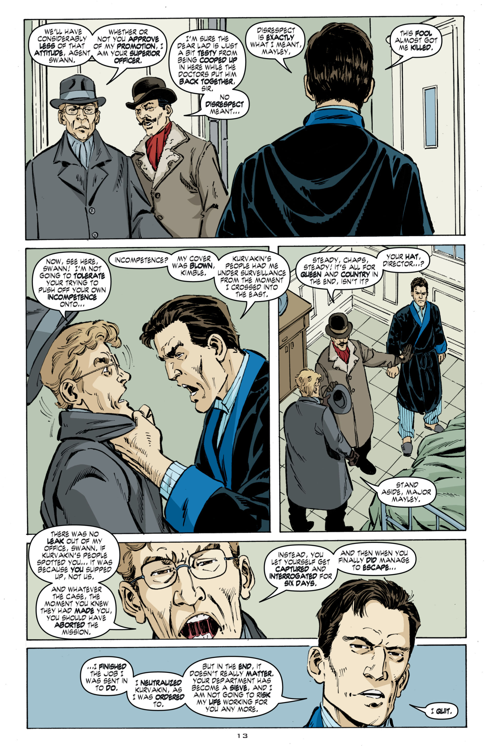 Read online Cold War comic -  Issue # TPB - 21