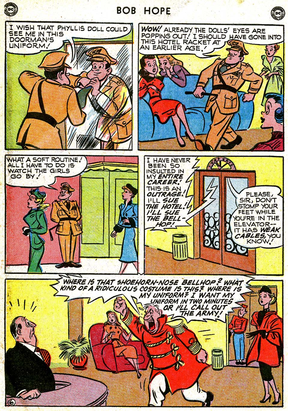 The Adventures of Bob Hope issue 8 - Page 8