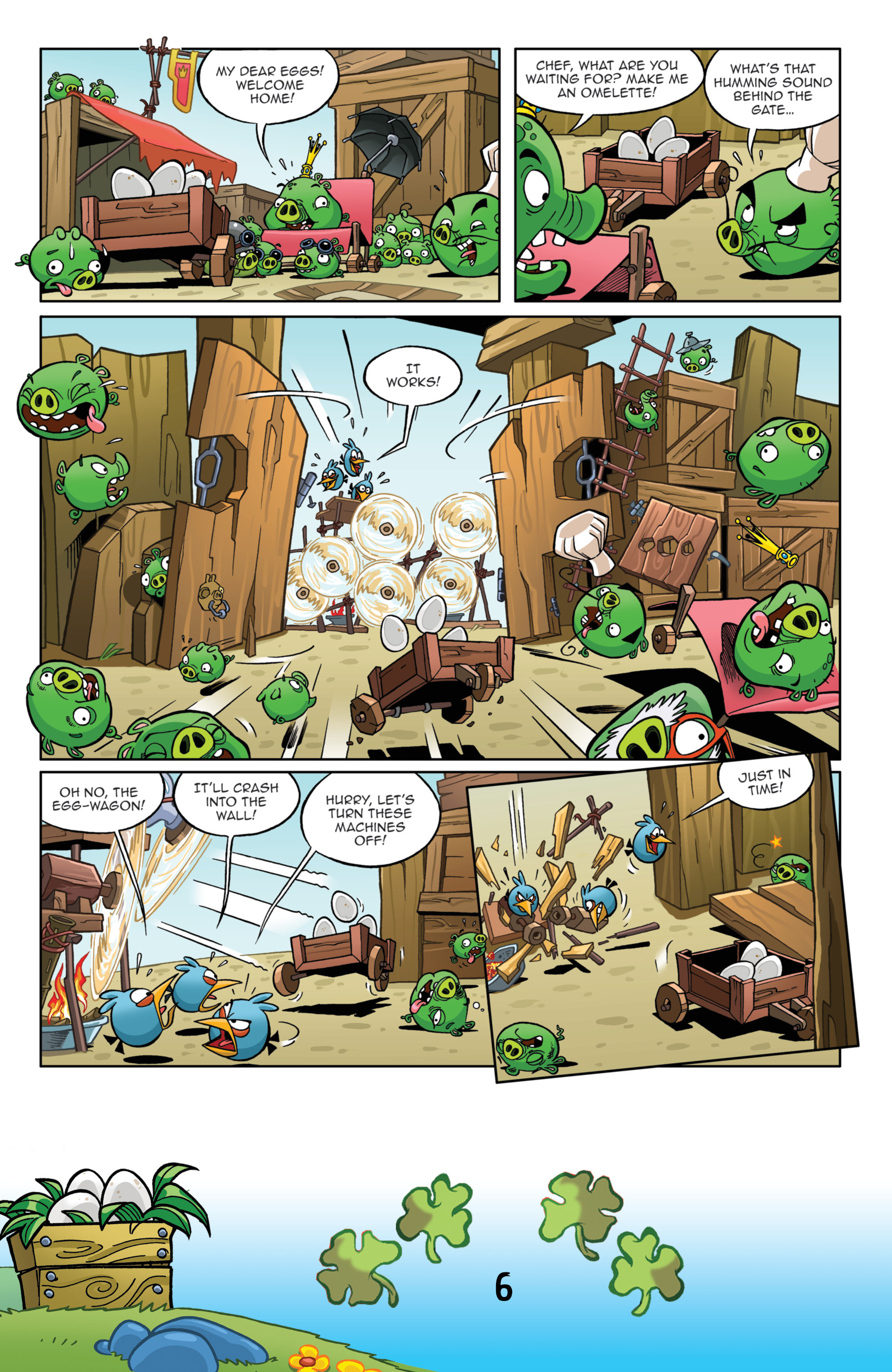 Read online Angry Birds Comics (2016) comic -  Issue #3 - 8