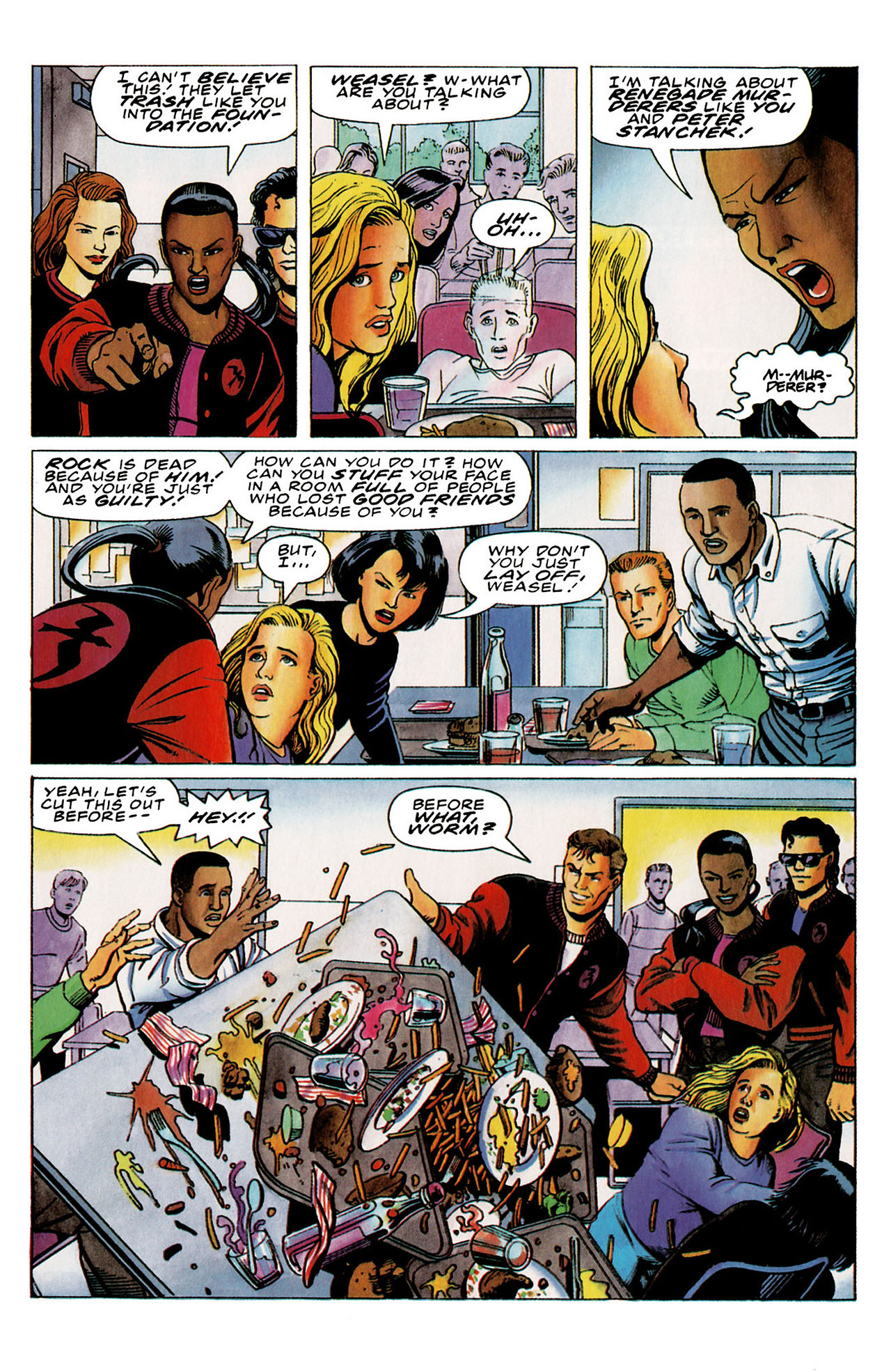 Read online Harbinger (1992) comic -  Issue #26 - 18