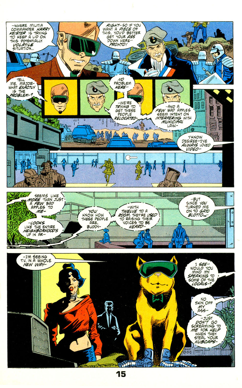 Read online American Flagg! comic -  Issue #29 - 18