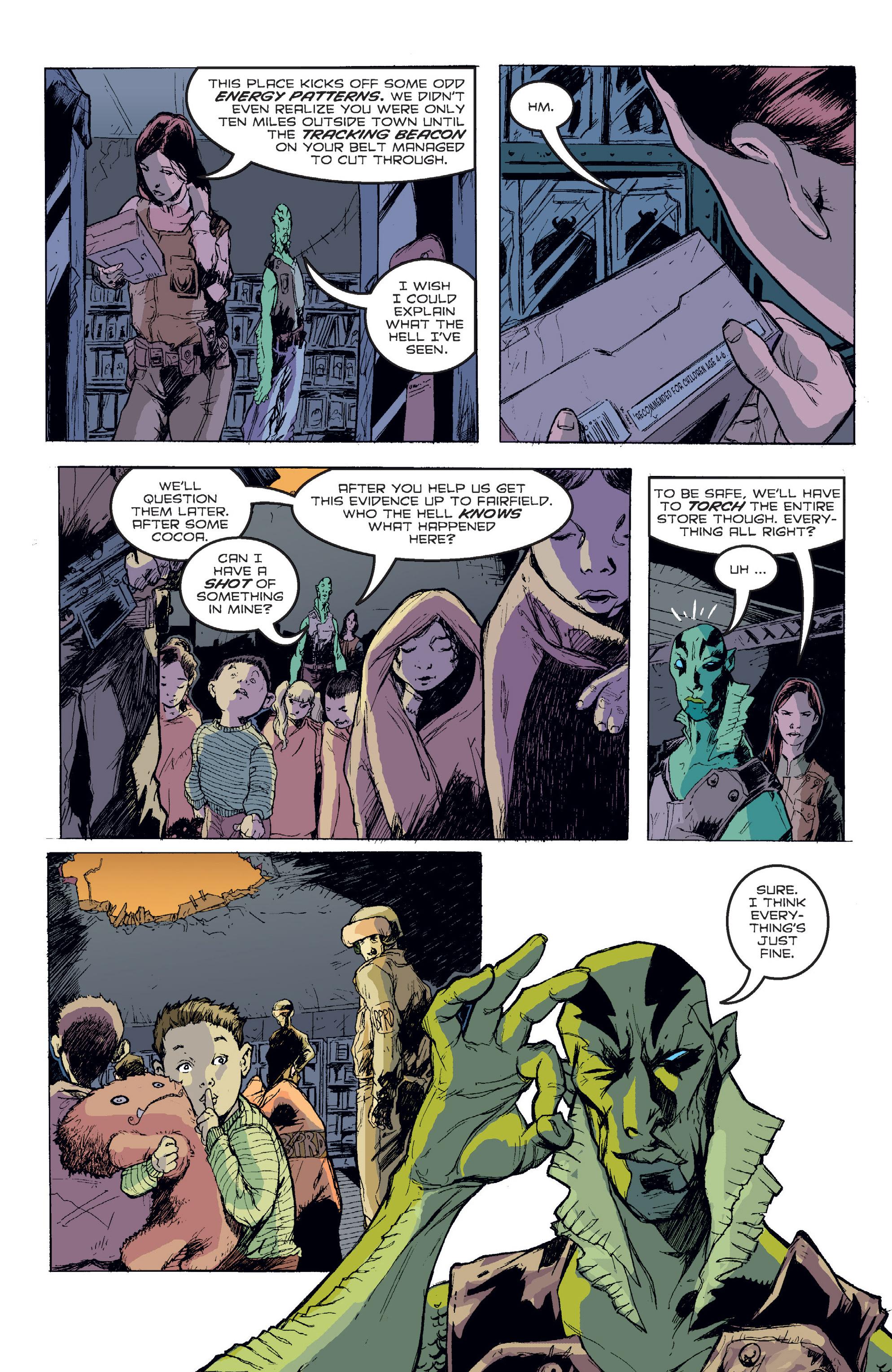 Read online B.P.R.D. (2003) comic -  Issue # TPB 2 - 103