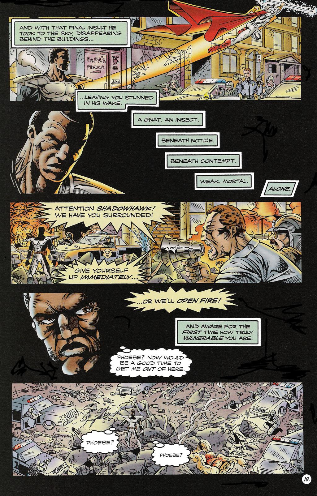 Read online ShadowHawk comic -  Issue #16 - 17