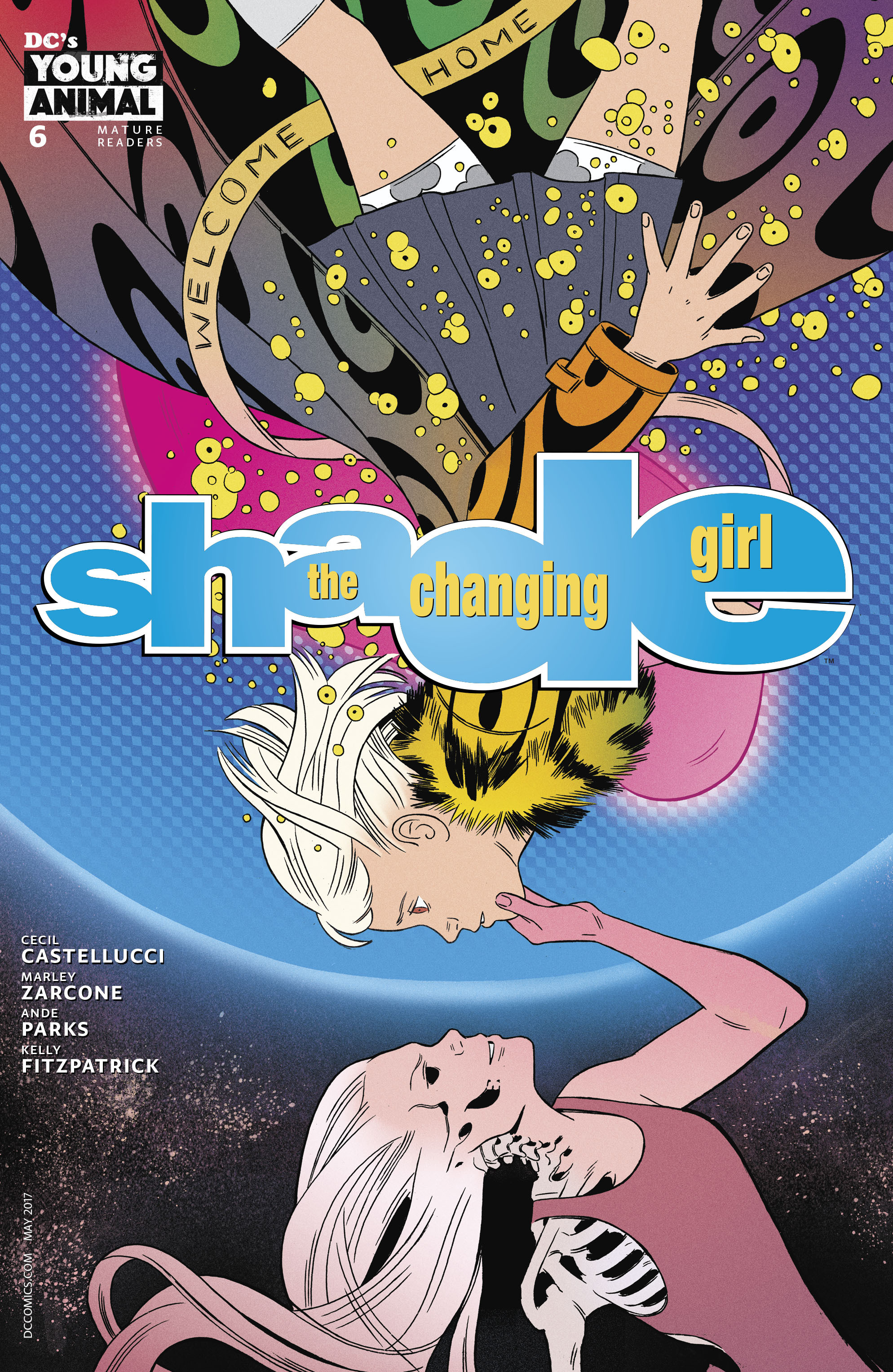 Read online Shade, the Changing Girl comic -  Issue #6 - 3