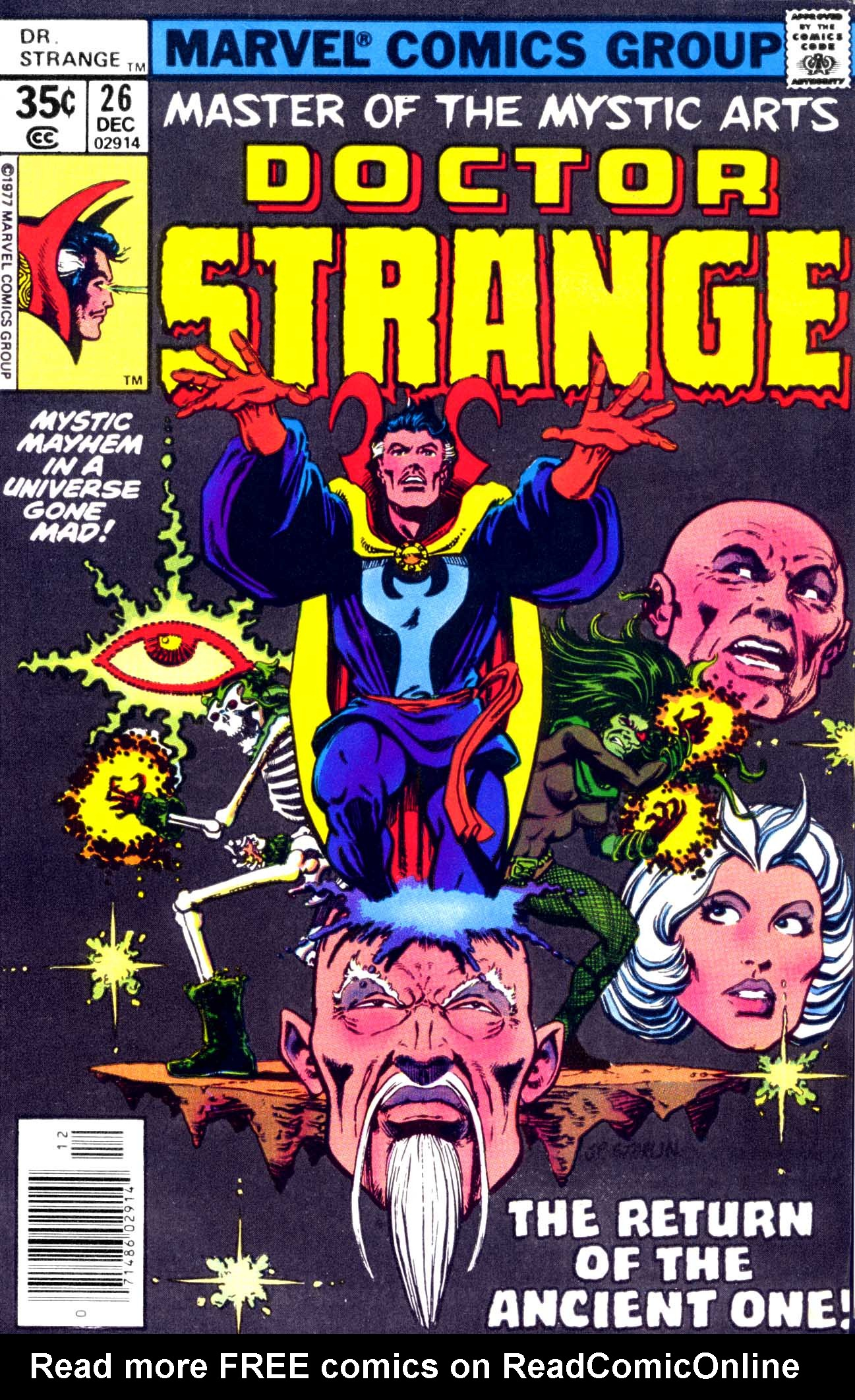 Doctor Strange (1974) 26 Page 1