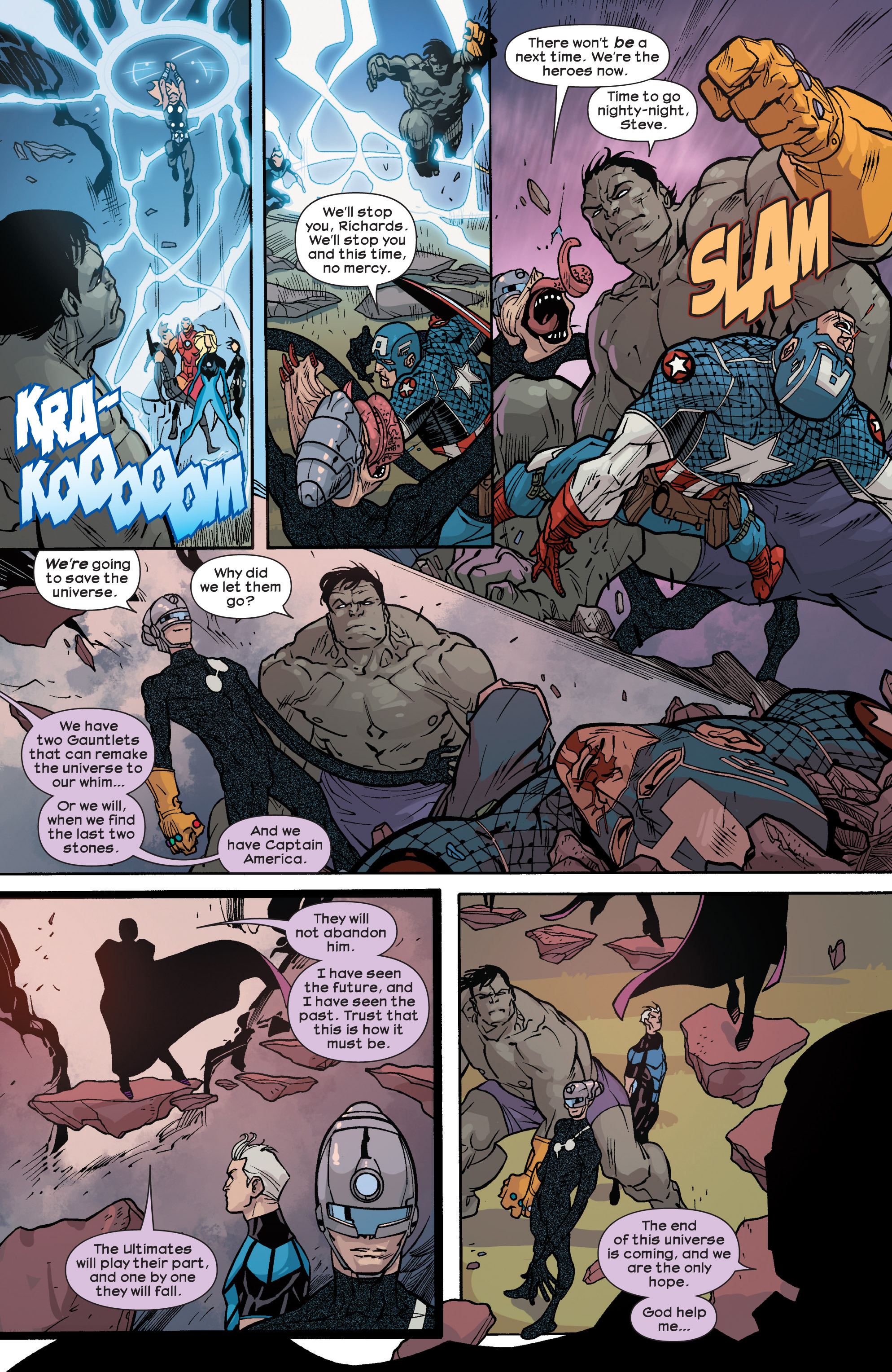 Read online Ultimate Comics Ultimates comic -  Issue #25 - 19