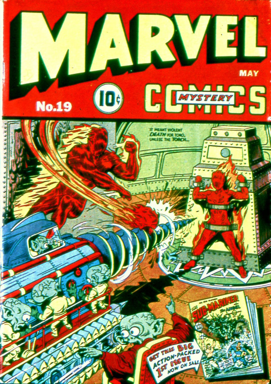 Marvel Mystery Comics 19 Page 1