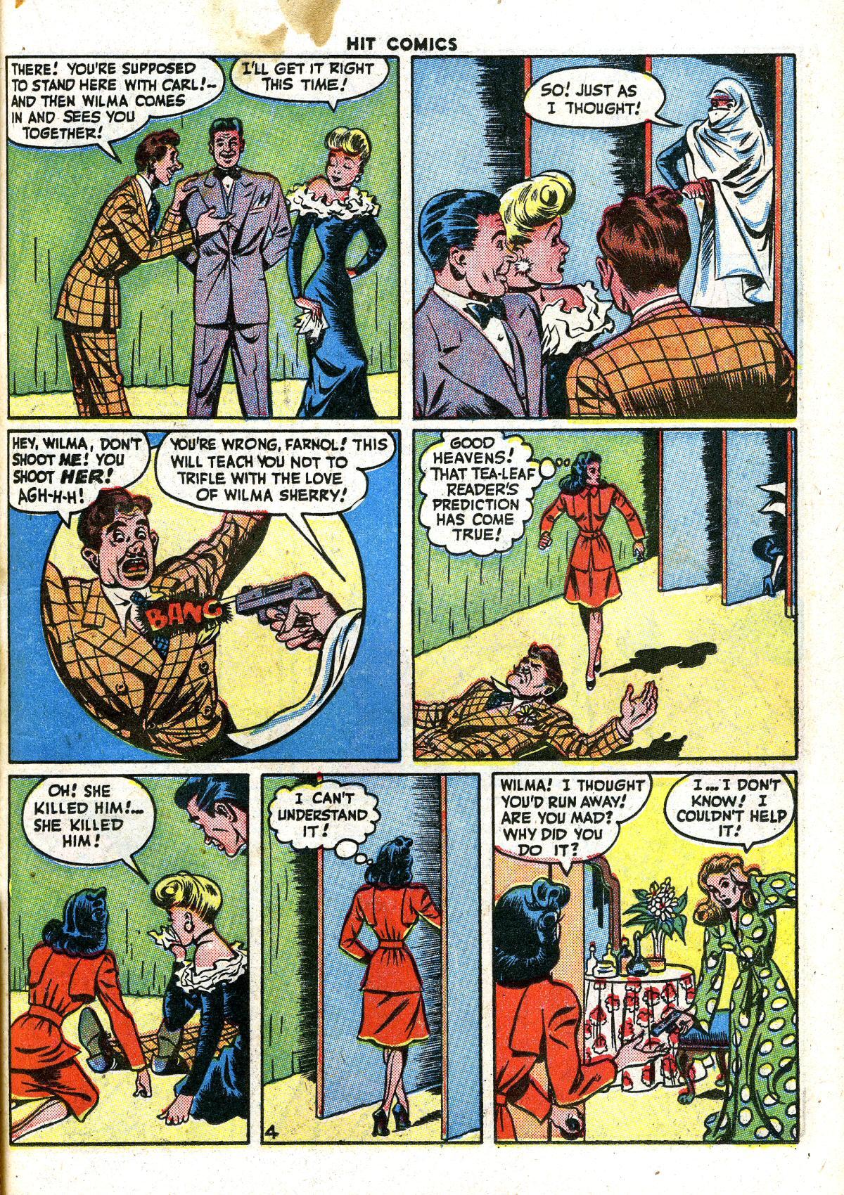 Read online Hit Comics comic -  Issue #41 - 33