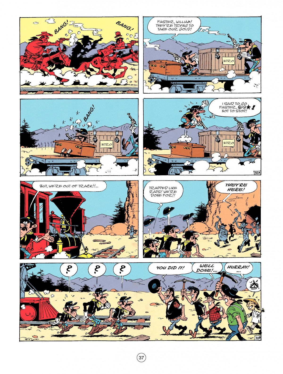 Read online A Lucky Luke Adventure comic -  Issue #53 - 37