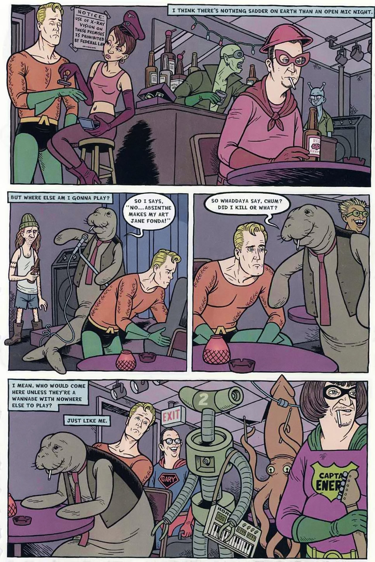Read online Bizarro World comic -  Issue # TPB - 64