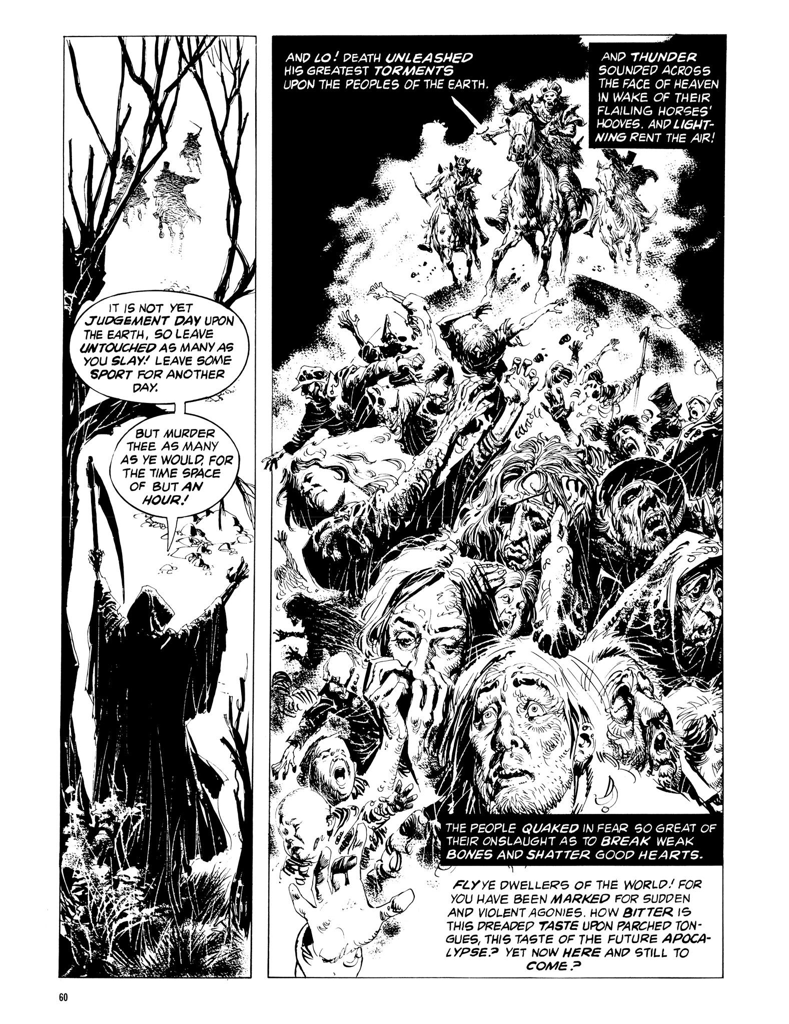 Read online Eerie Archives comic -  Issue # TPB 14 - 61