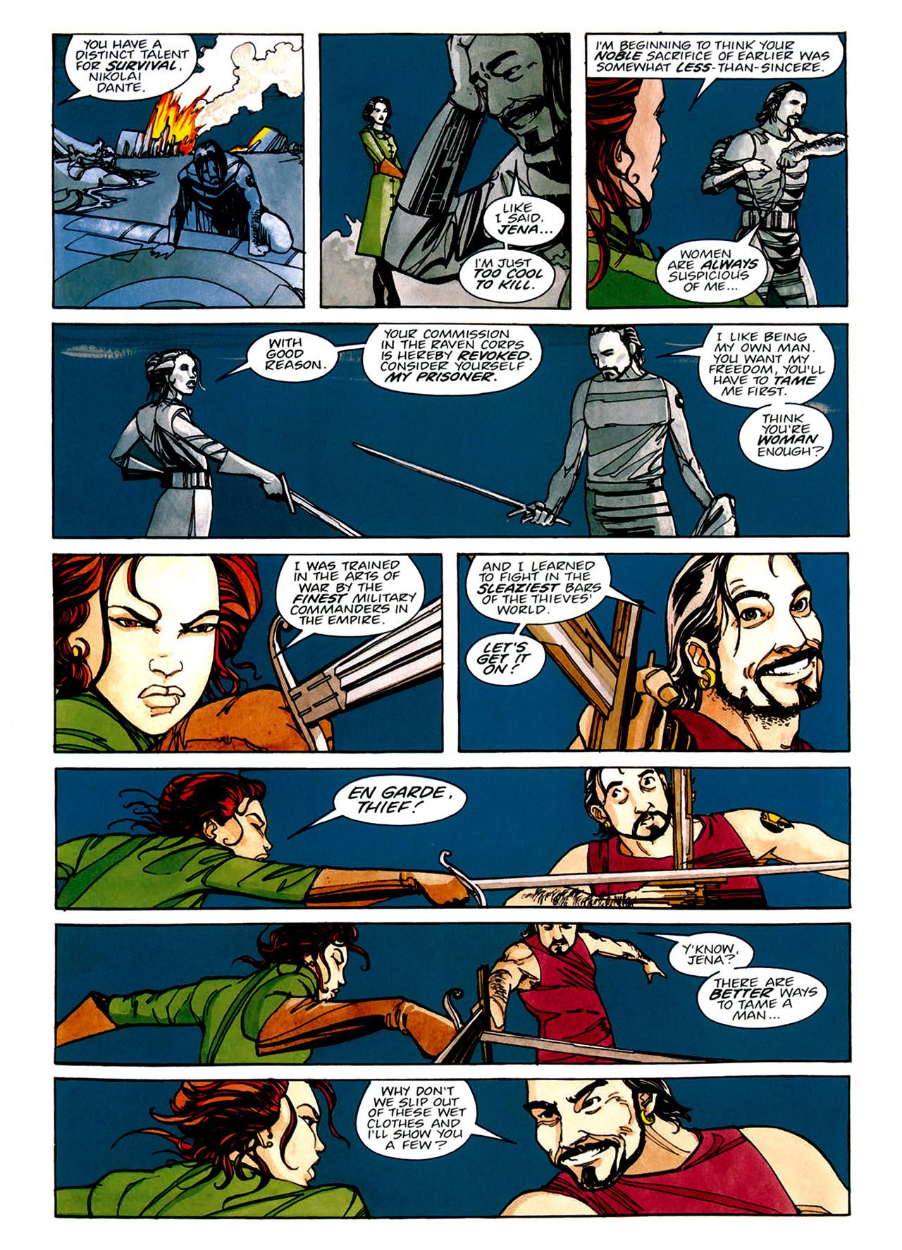 Read online Nikolai Dante comic -  Issue # TPB 1 - 45