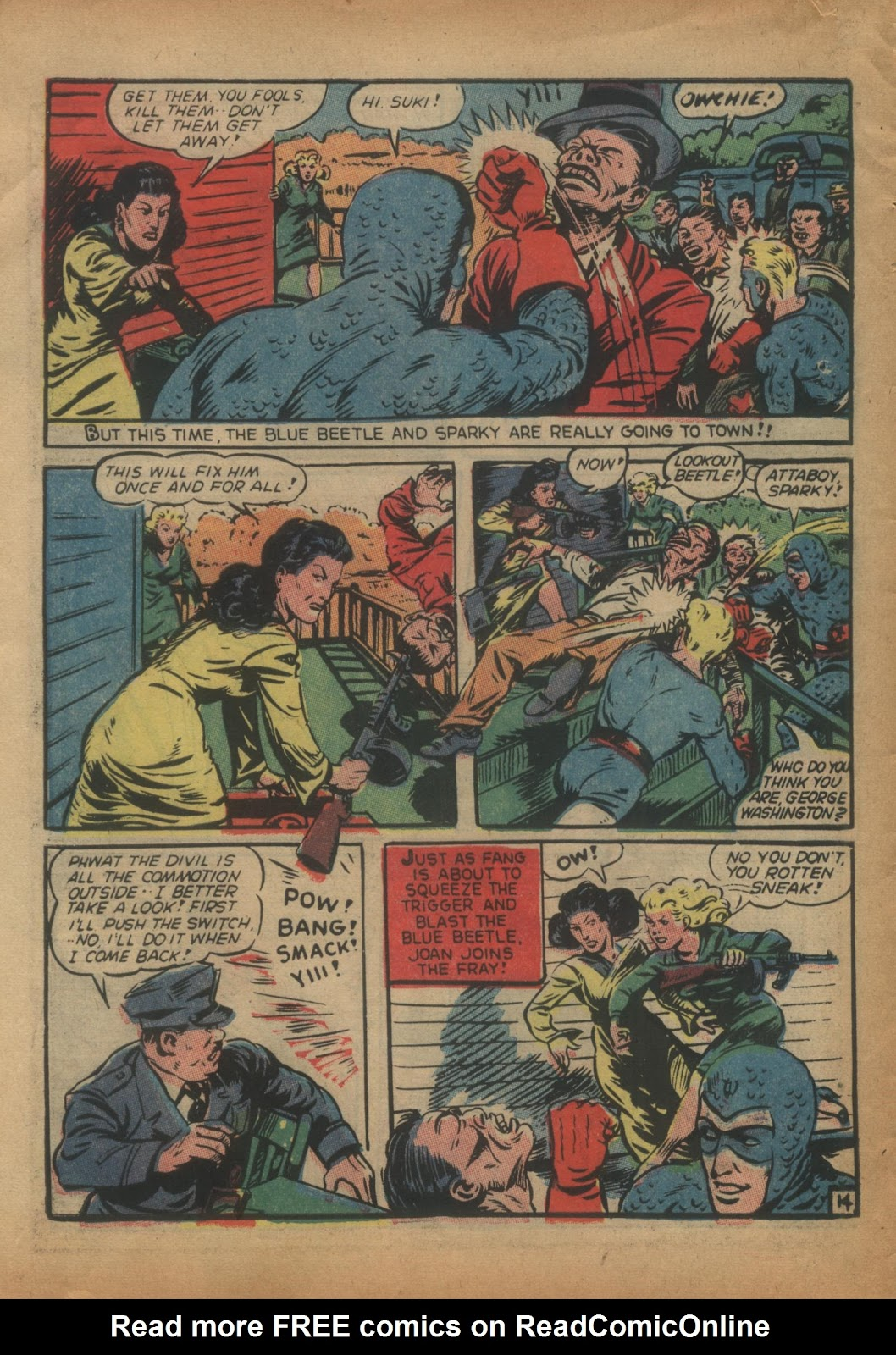 The Blue Beetle issue 15 - Page 16