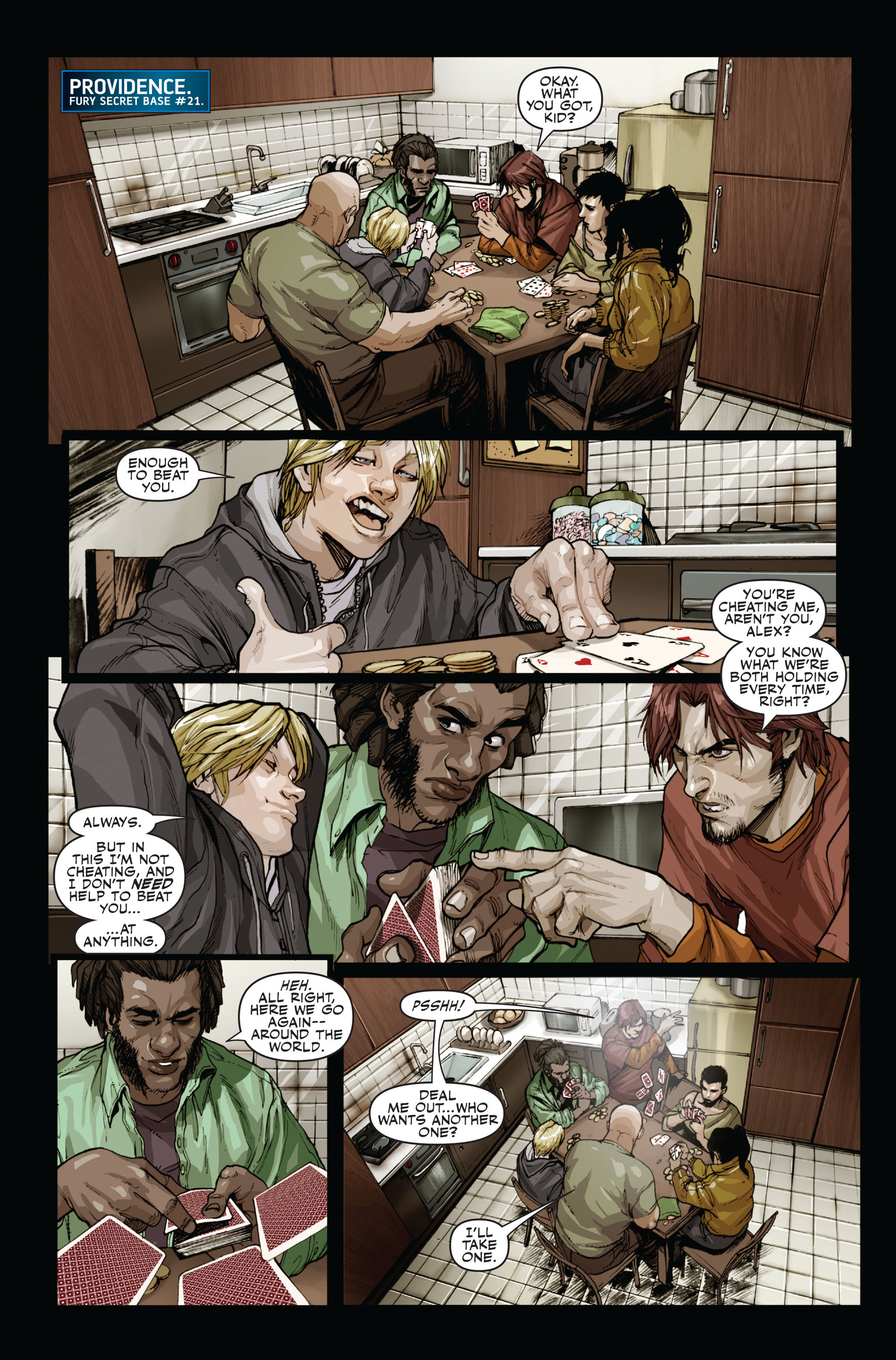 Read online Secret Warriors comic -  Issue #15 - 4