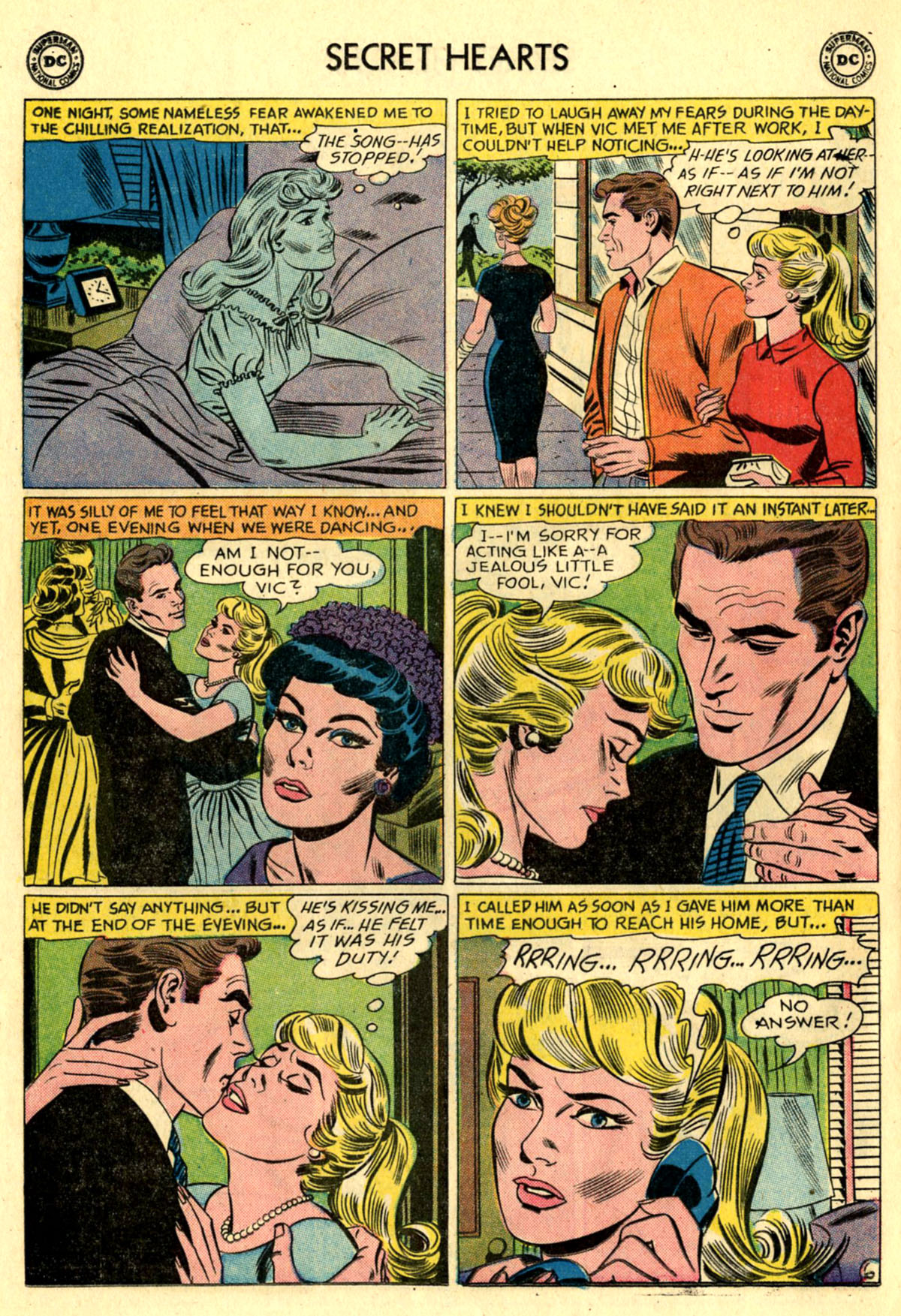 Read online Secret Hearts comic -  Issue #83 - 32