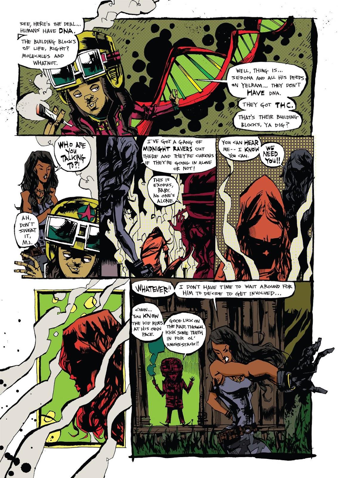 Read online Marijuanaman comic -  Issue # Full - 12