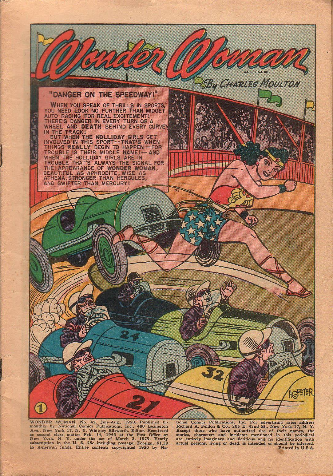 Read online Wonder Woman (1942) comic -  Issue #42 - 4