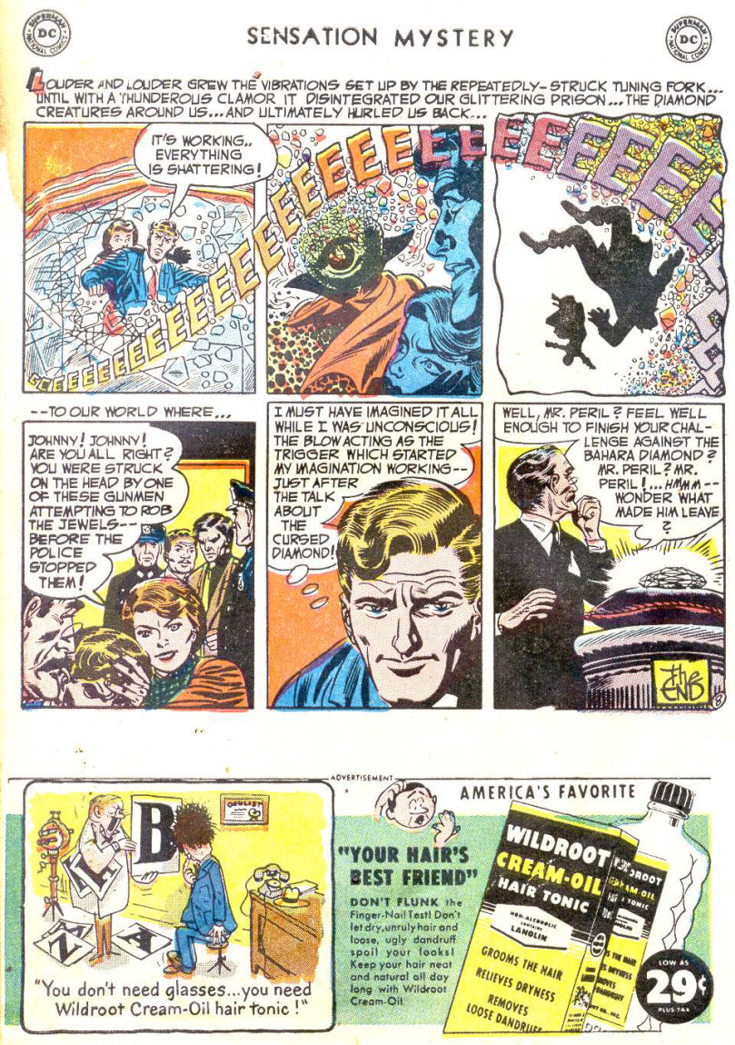 Read online Sensation (Mystery) Comics comic -  Issue #114 - 10