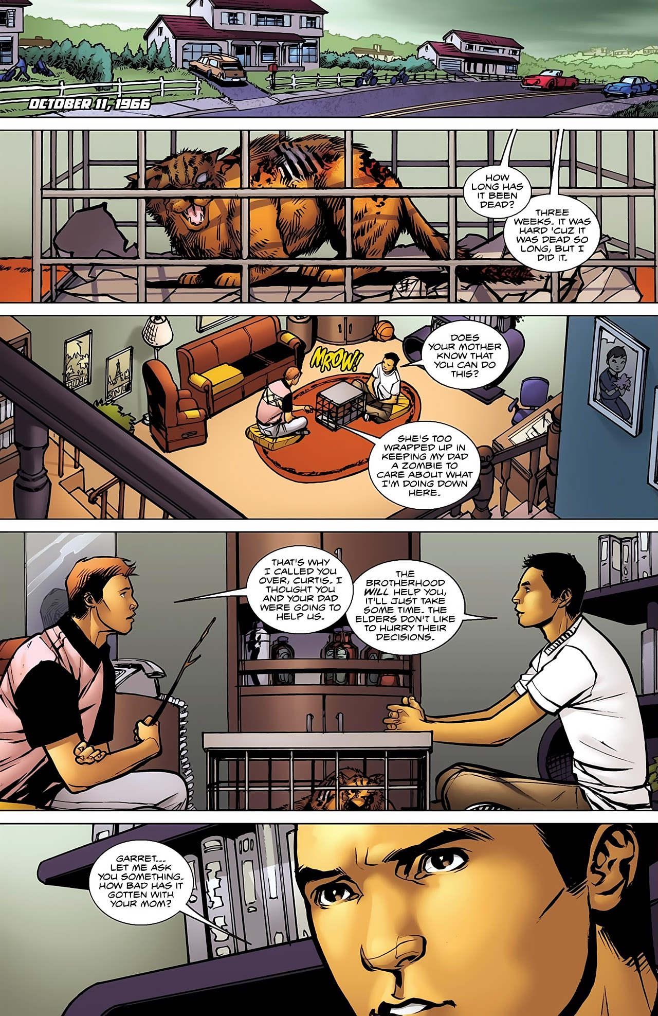 Read online Magus comic -  Issue #5 - 4