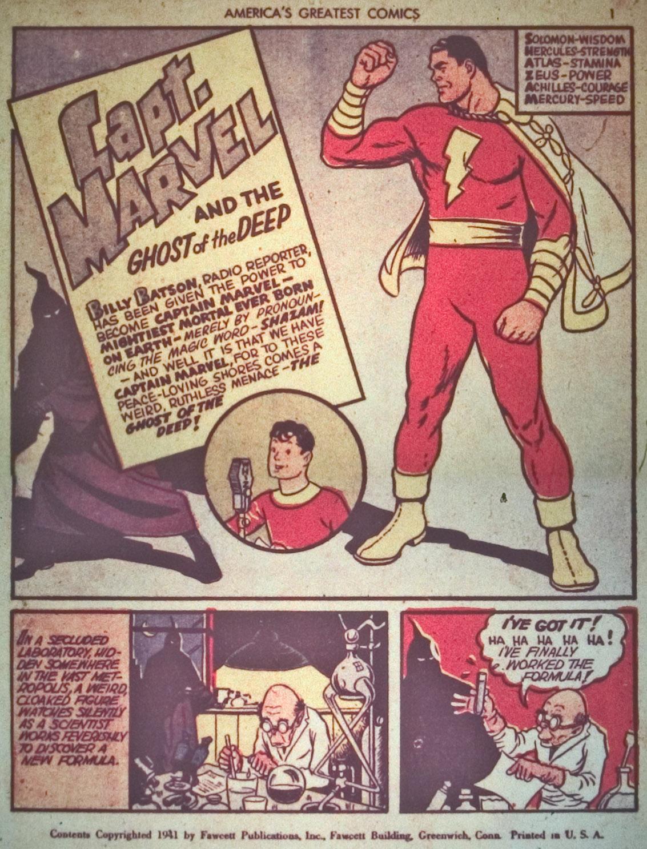 Read online America's Greatest Comics comic -  Issue #1 - 4