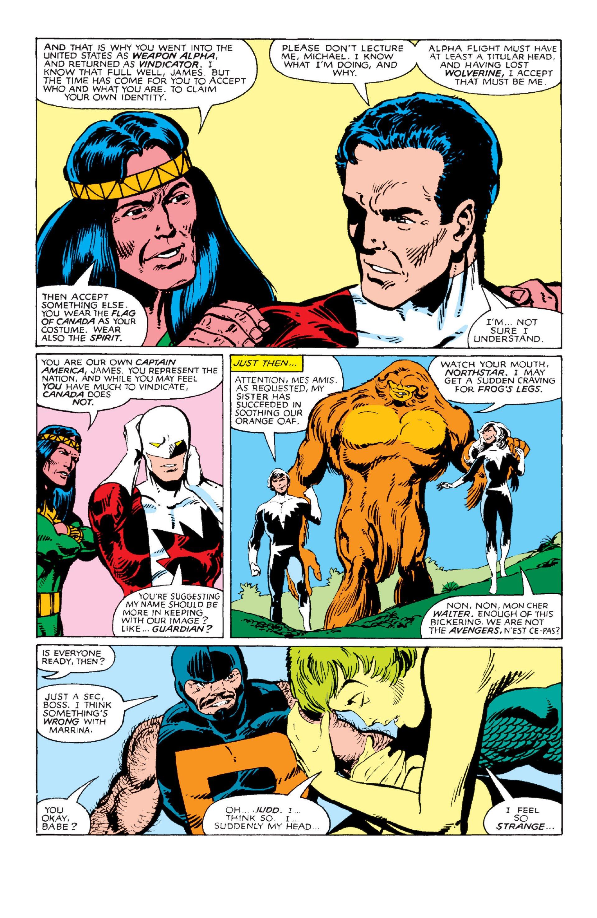 Read online Alpha Flight (1983) comic -  Issue #2 - 6