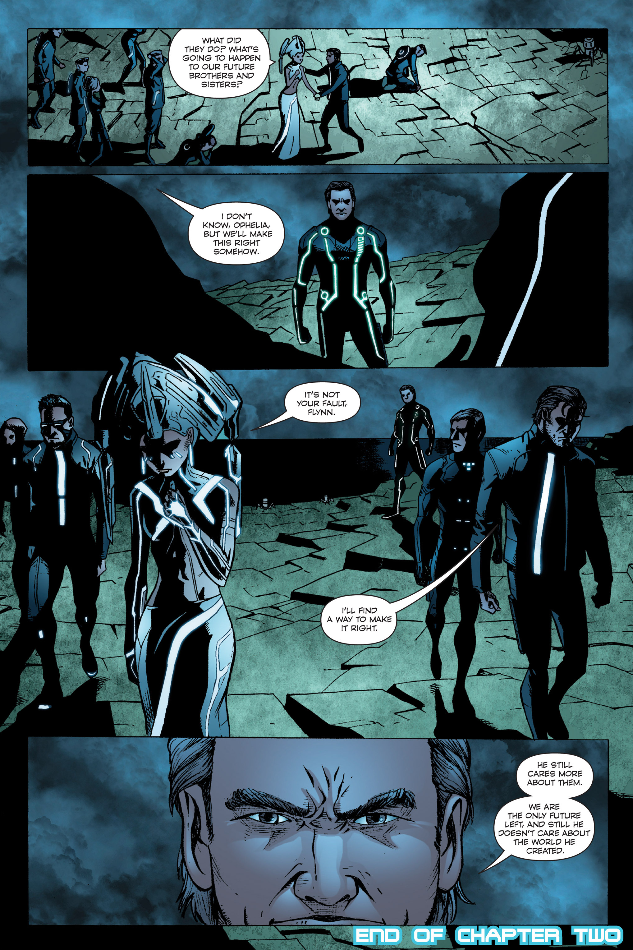 Read online TRON: Betrayal comic -  Issue # TPB - 107
