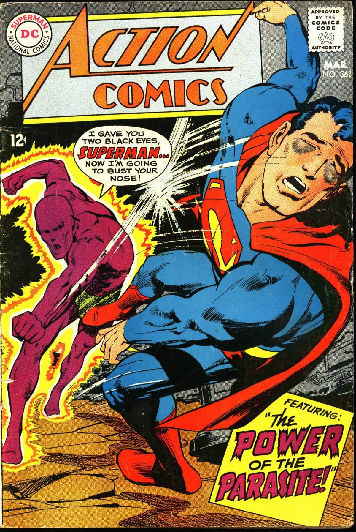 Read online Action Comics (1938) comic -  Issue #361 - 1