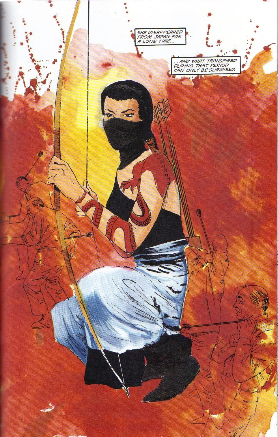 Read online Shado: Song of the Dragon comic -  Issue #2 - 41