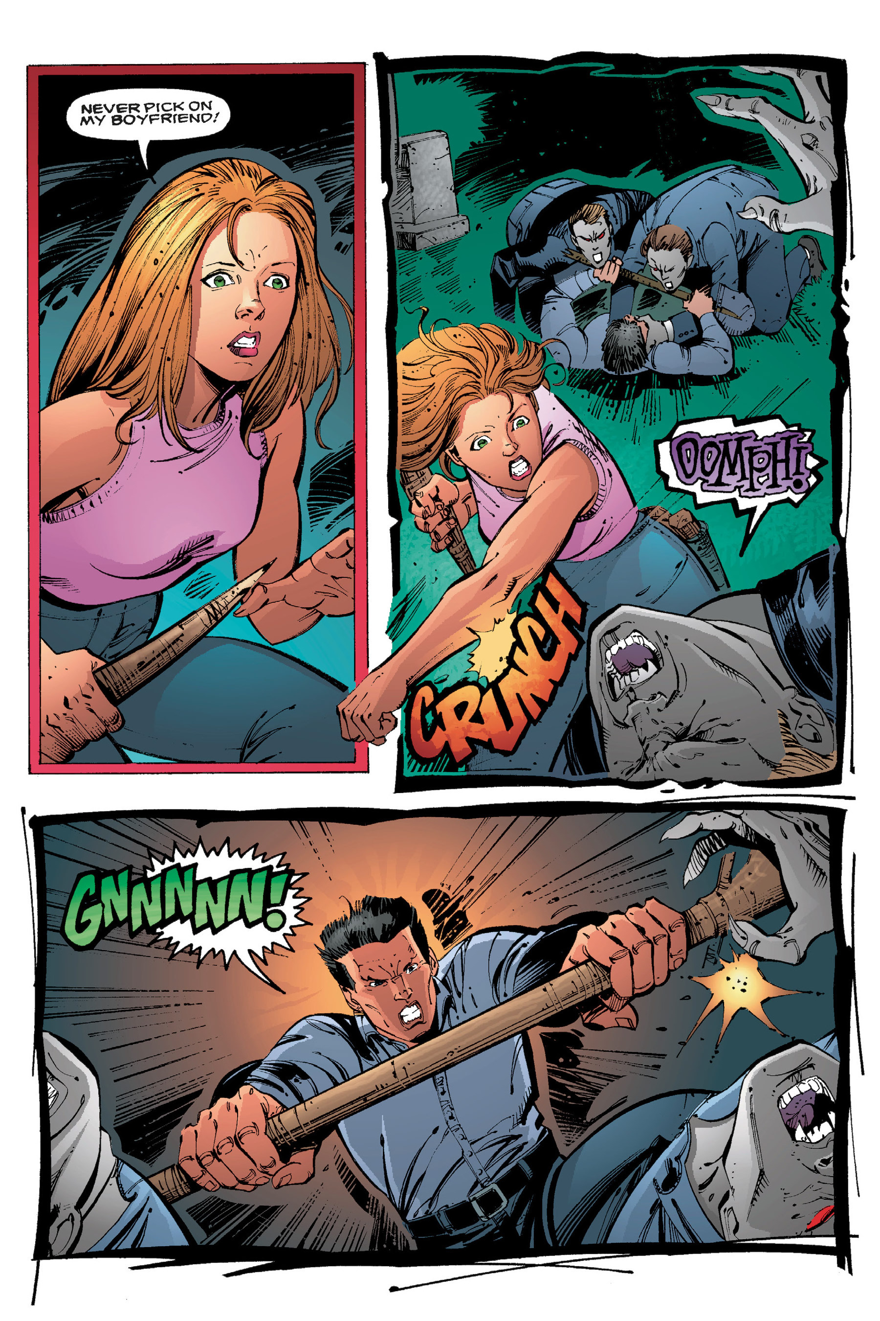 Read online Buffy the Vampire Slayer: Omnibus comic -  Issue # TPB 3 - 142