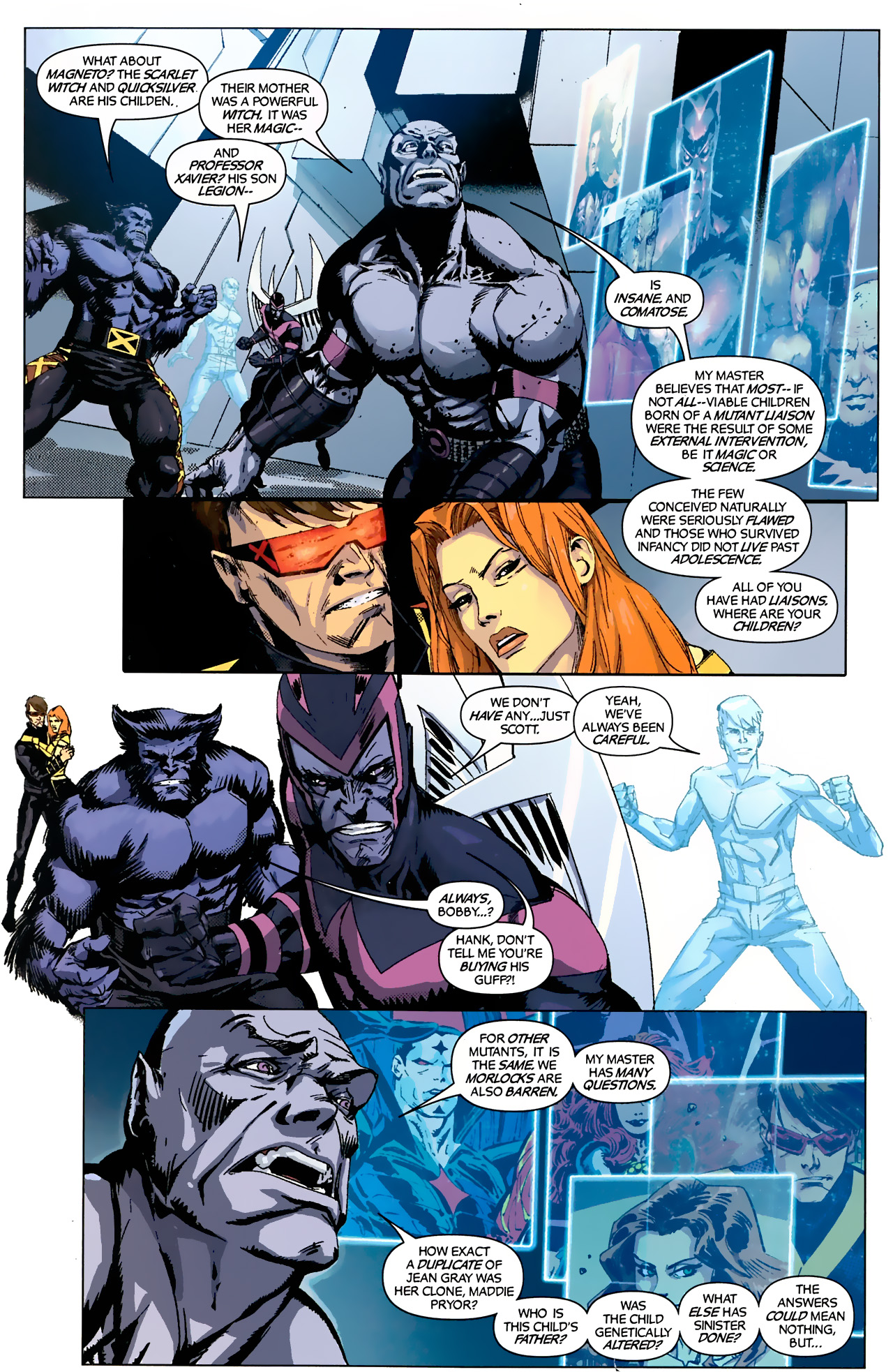 Read online X-Factor Forever comic -  Issue #4 - 9