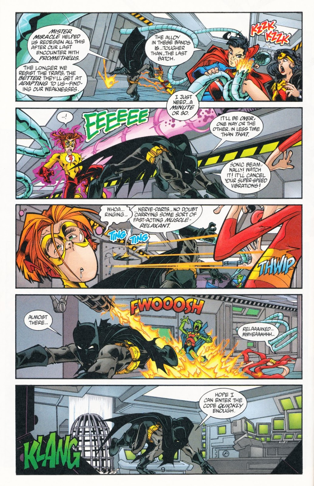 Sins of Youth issue JLA Jr. - Page 14