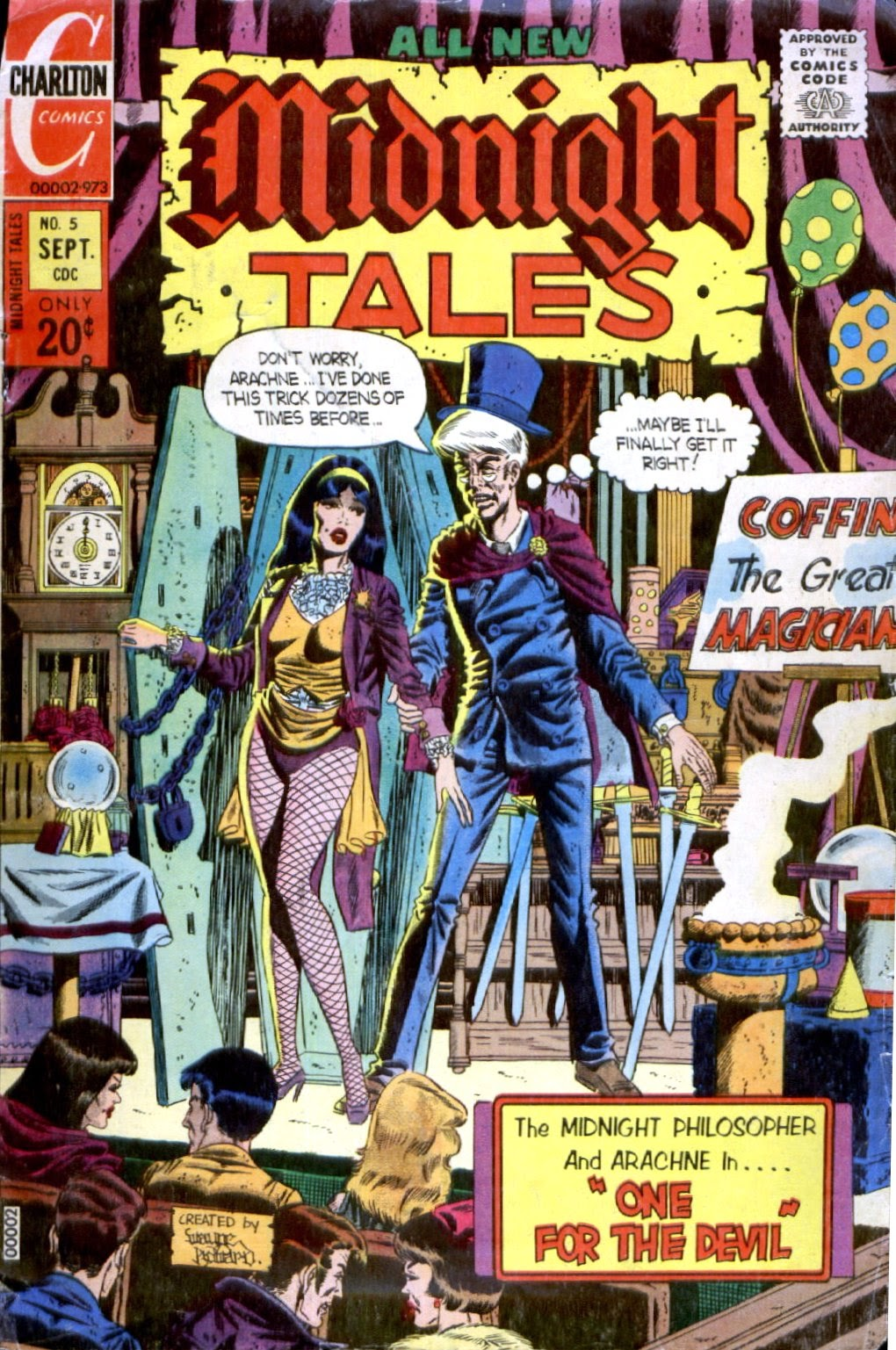 Midnight Tales issue 5 - Page 1
