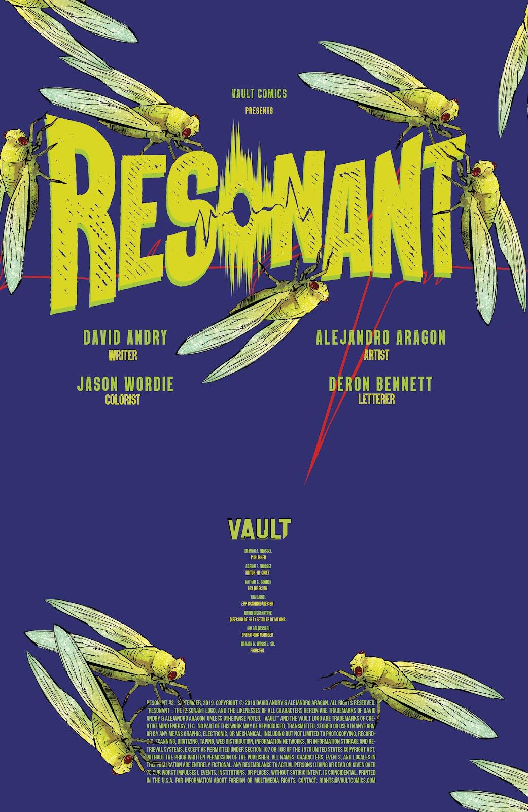 Read online Resonant comic -  Issue #3 - 2
