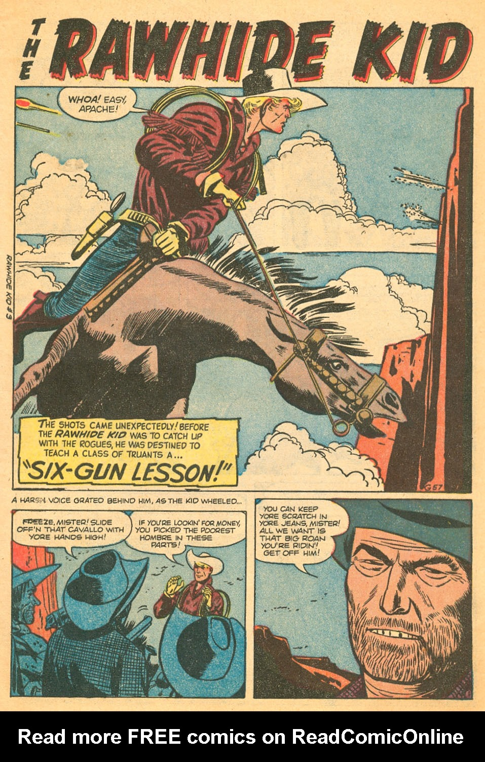 The Rawhide Kid (1955) issue 3 - Page 3