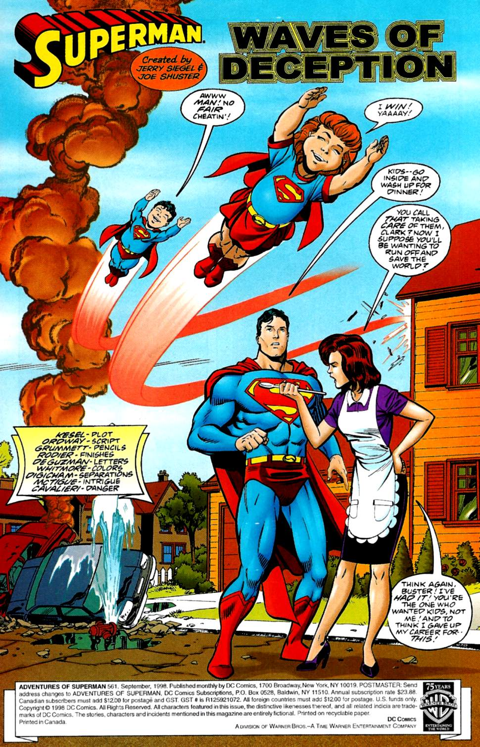 Read online Adventures of Superman (1987) comic -  Issue #561 - 2