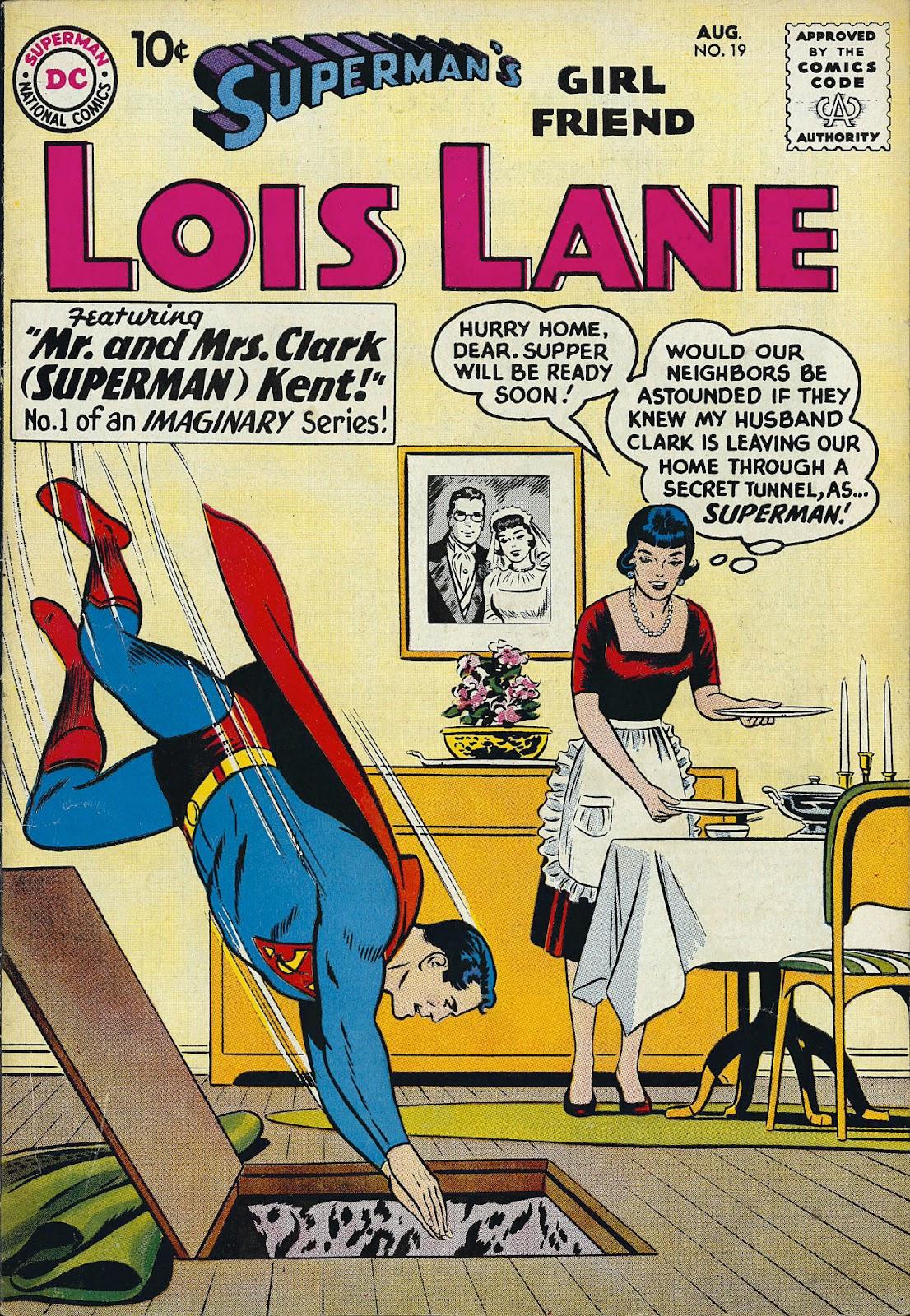 Supermans Girl Friend, Lois Lane 19 Page 1
