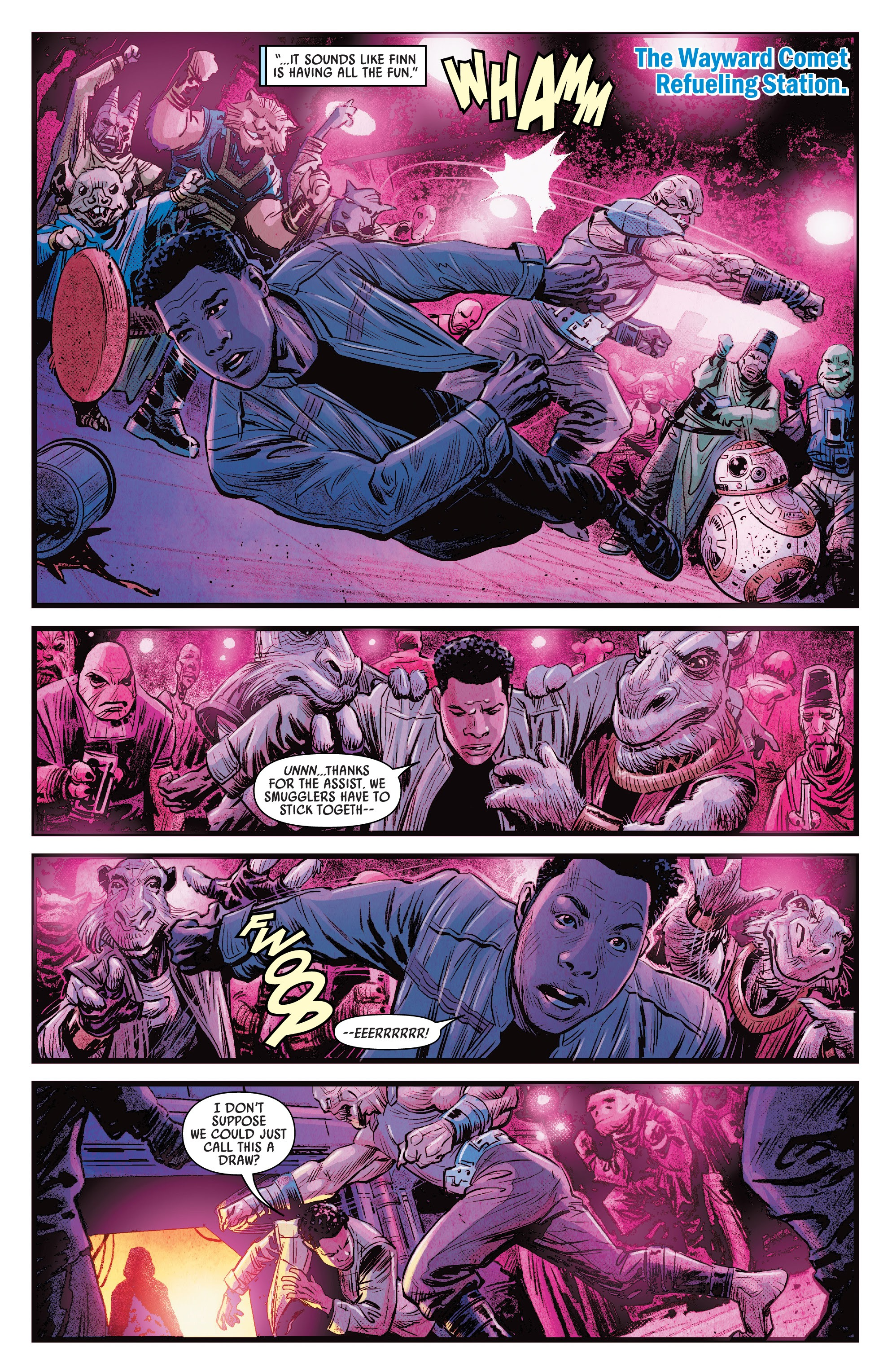Journey To Star Wars The Rise Of Skywalker Allegiance 1 Read Journey To Star Wars The Rise Of Skywalker Allegiance Issue 1 Page 17