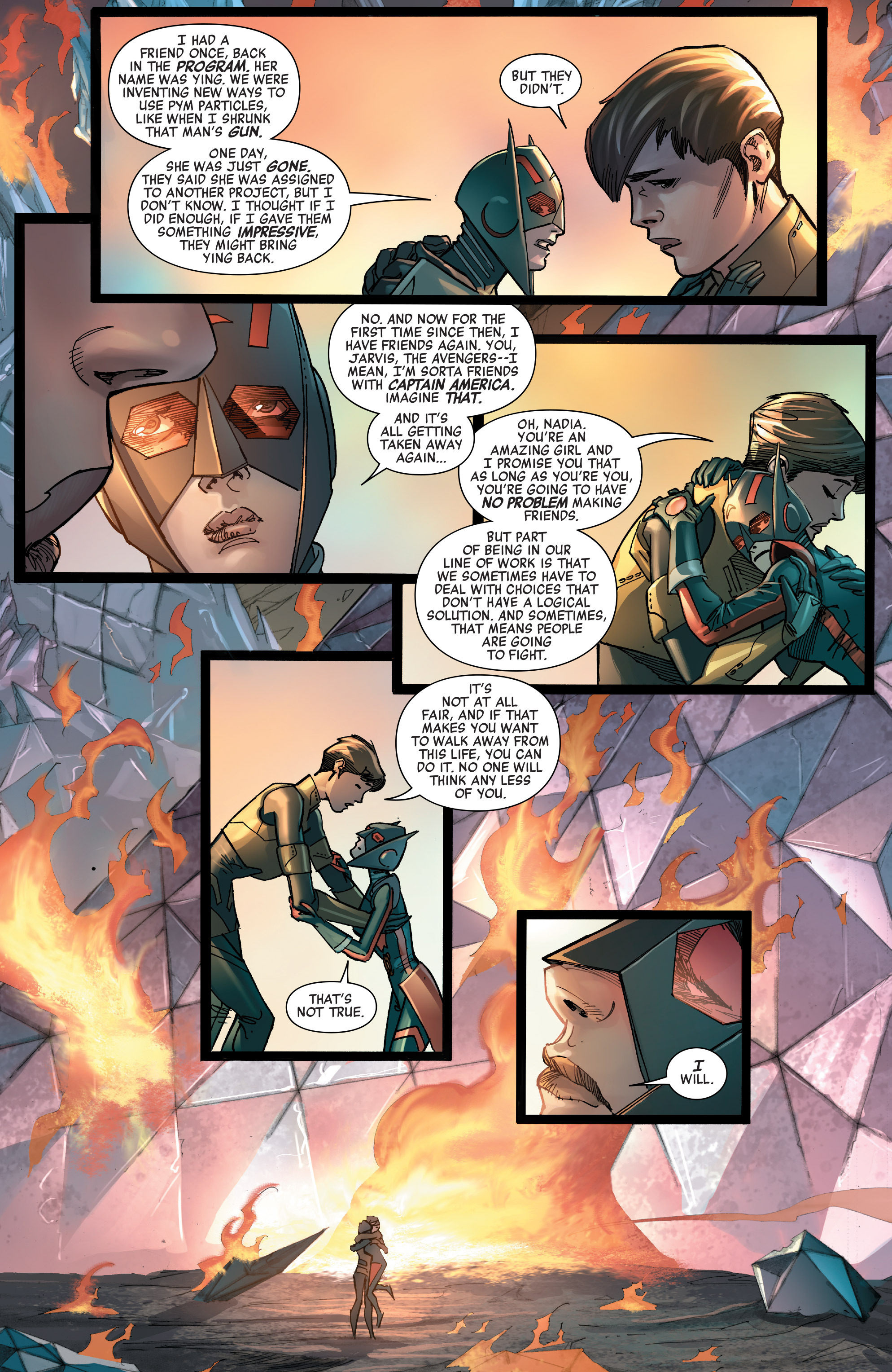 Read online All-New, All-Different Avengers comic -  Issue #14 - 21