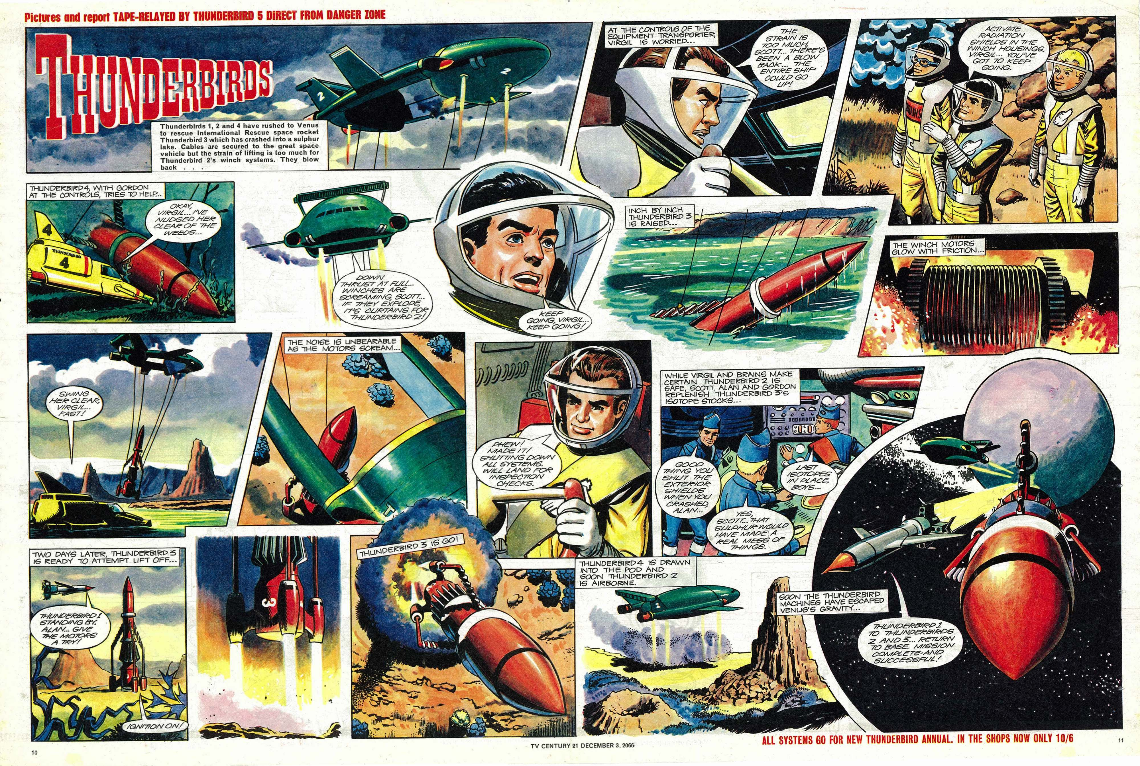 Read online TV Century 21 (TV 21) comic -  Issue #98 - 10