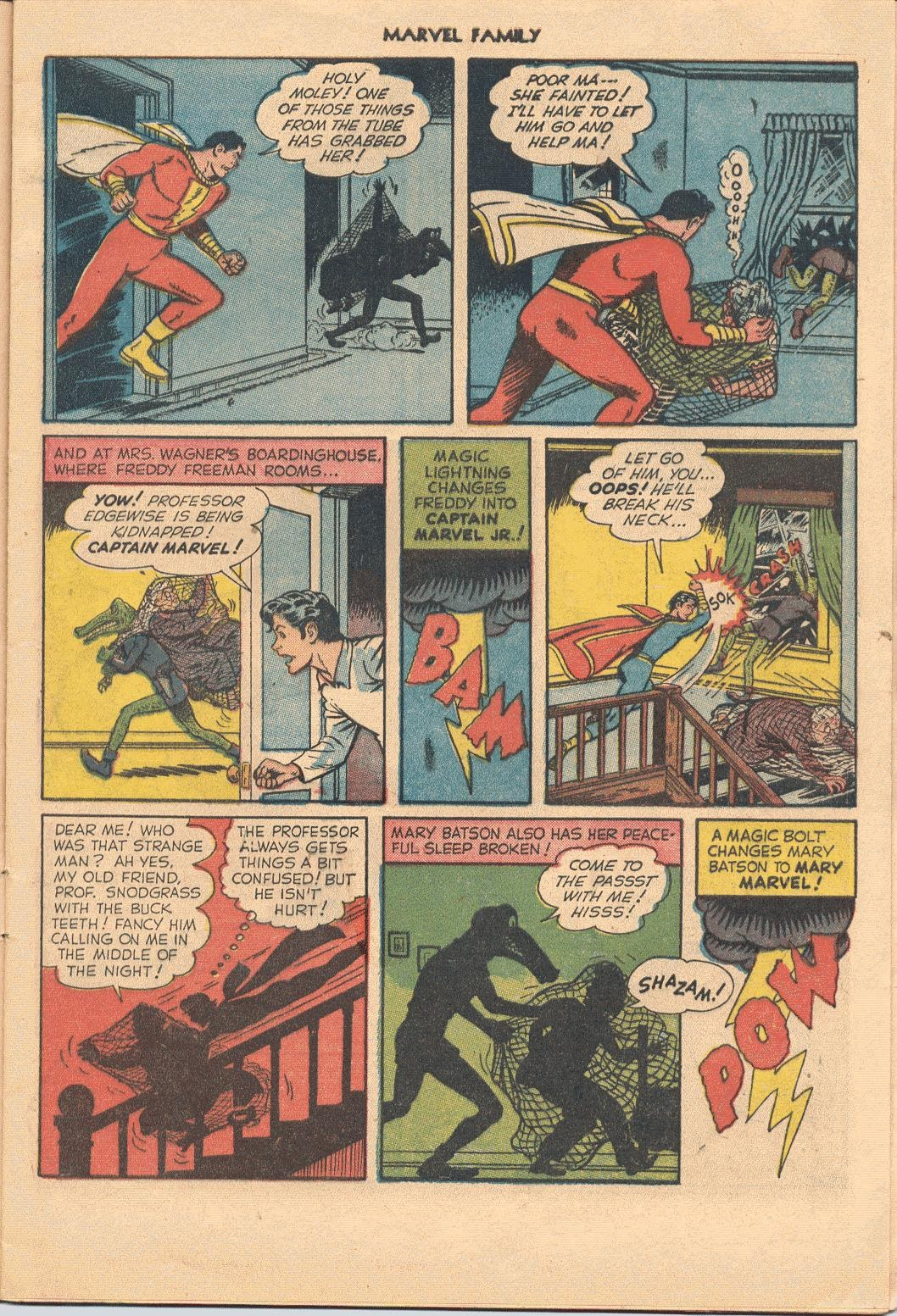 The Marvel Family issue 74 - Page 9