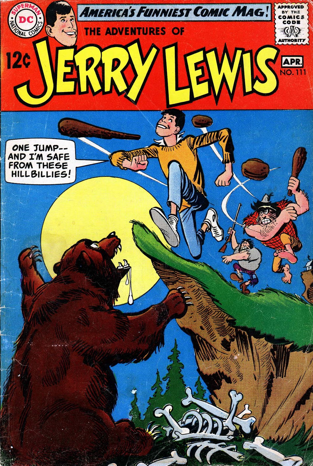 The Adventures of Jerry Lewis 111 Page 1