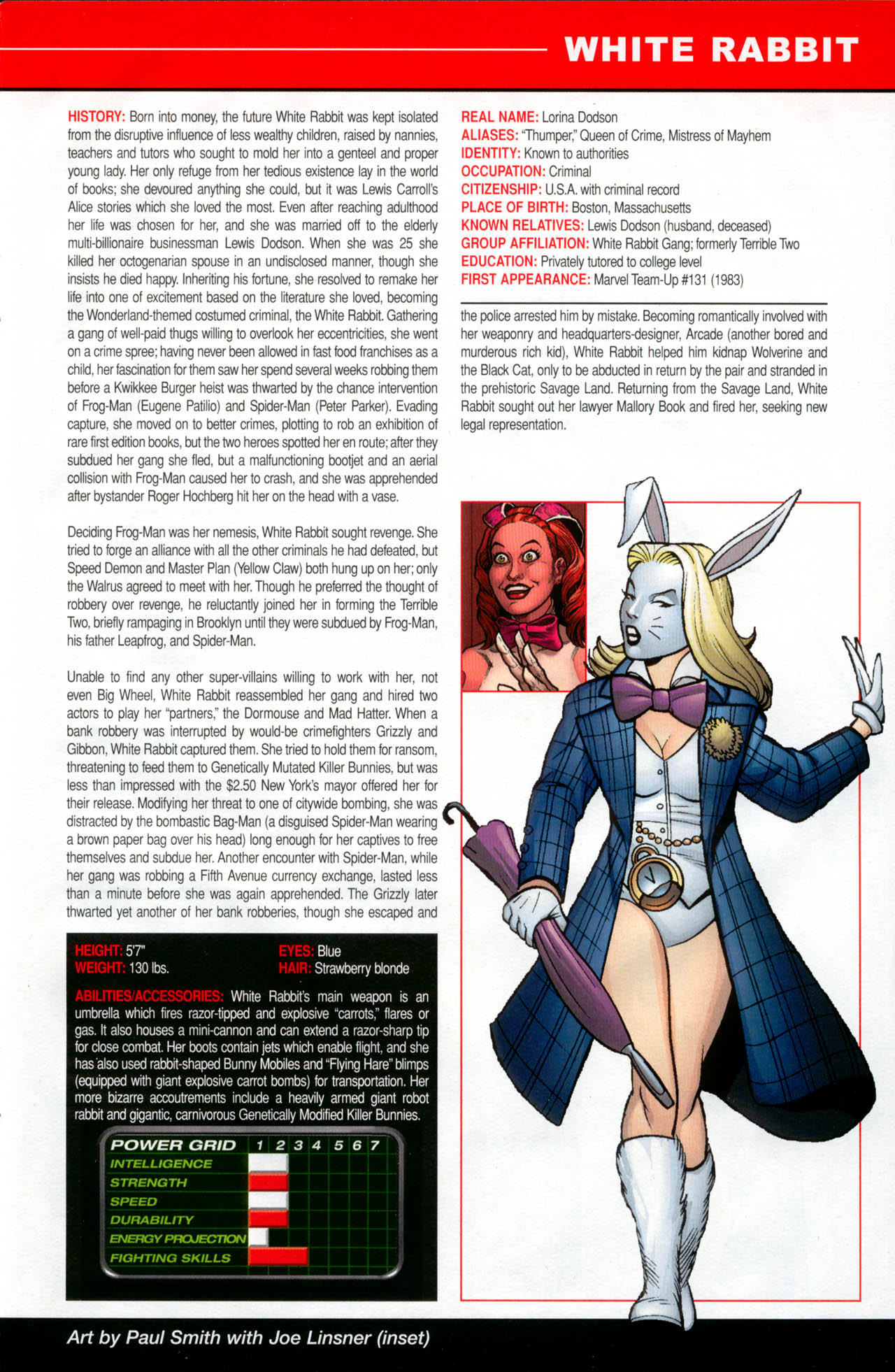 Read online All-New Official Handbook of the Marvel Universe A to Z: Update comic -  Issue #2 - 61