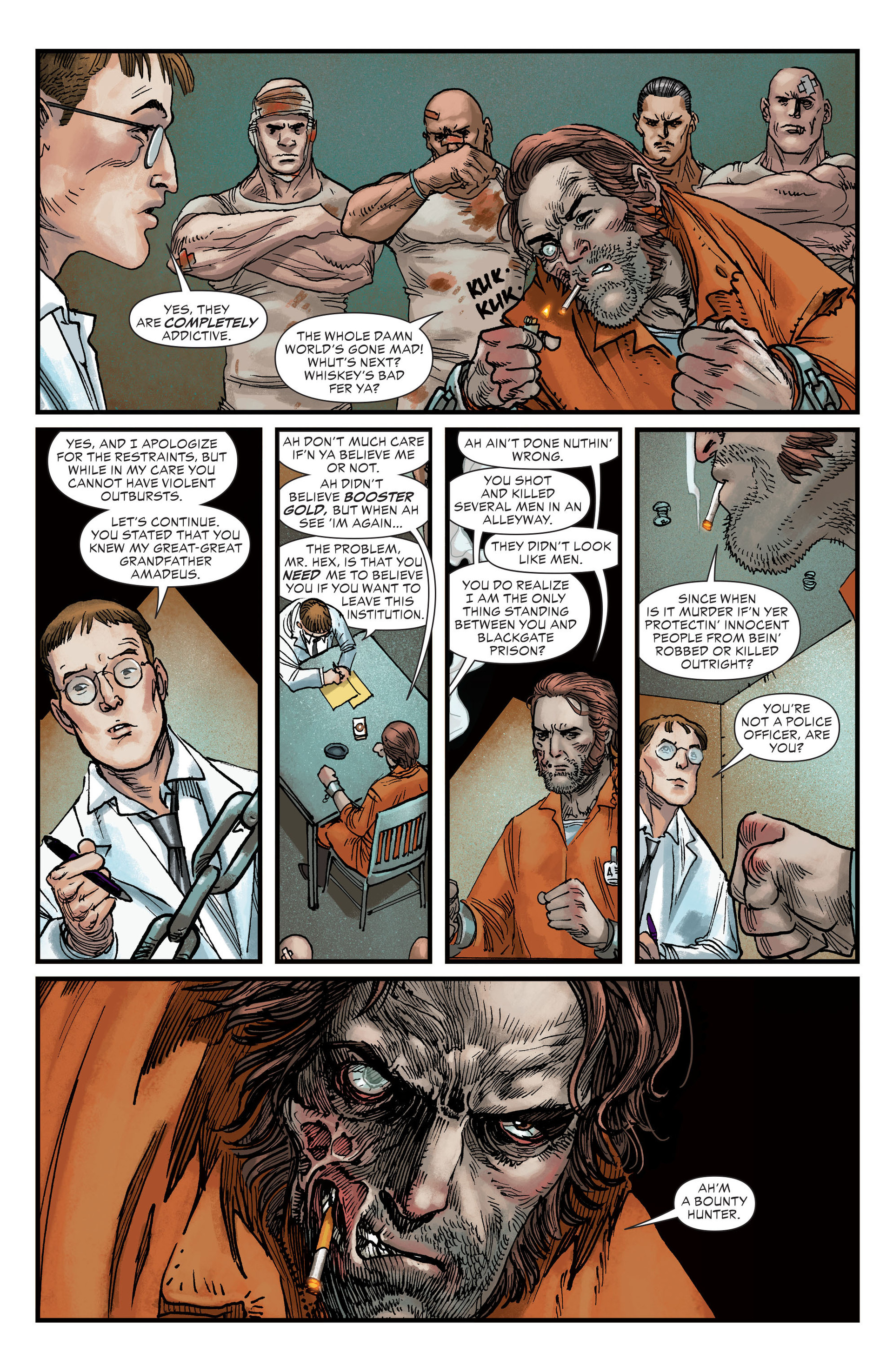 Read online All-Star Western (2011) comic -  Issue #22 - 6