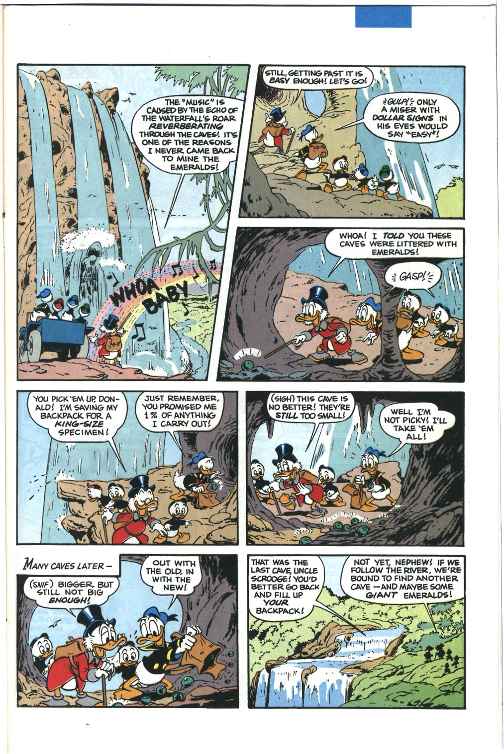 Read online Uncle Scrooge (1953) comic -  Issue #285 - 19