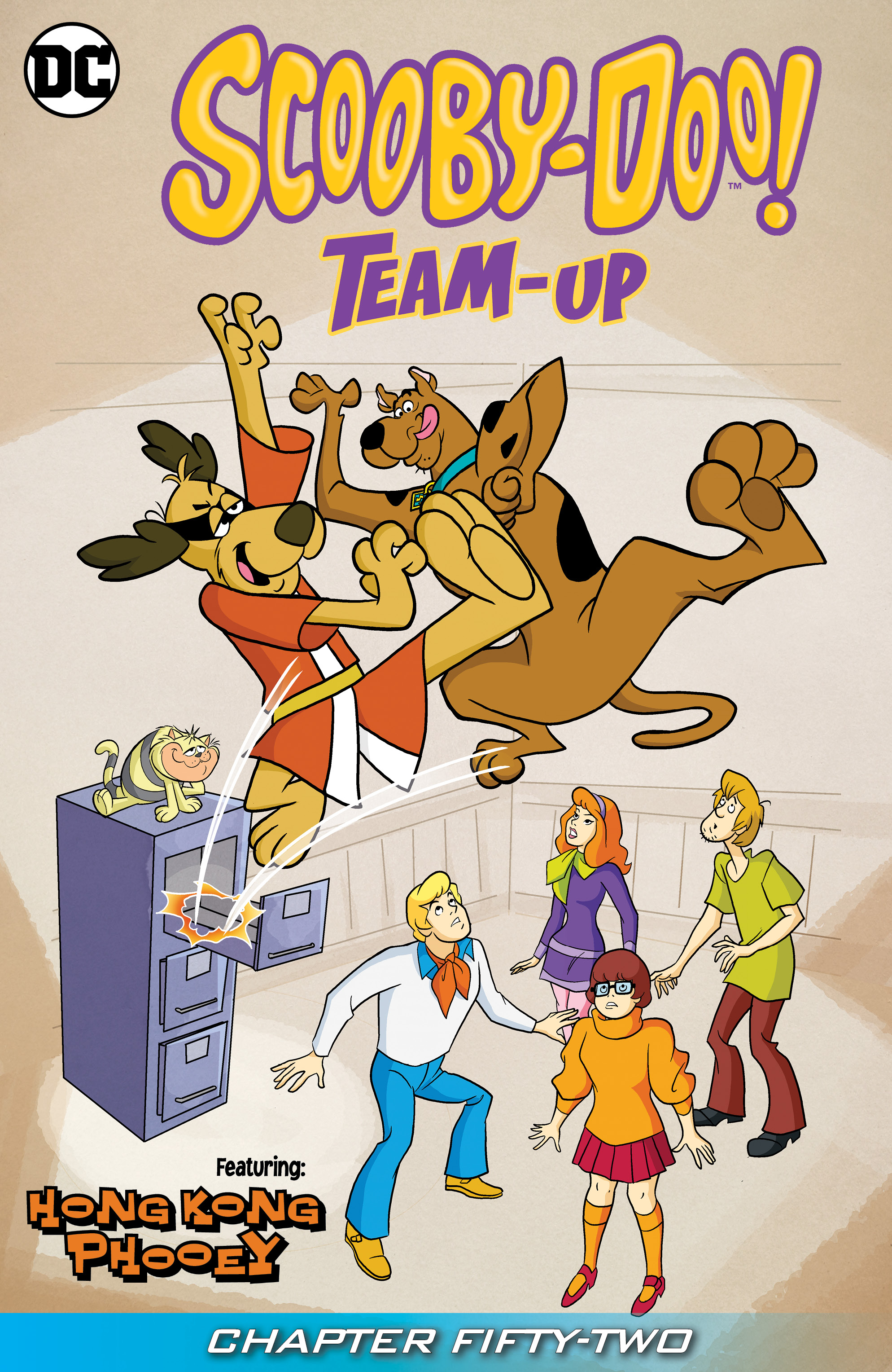 Read online Scooby-Doo! Team-Up comic -  Issue #52 - 2