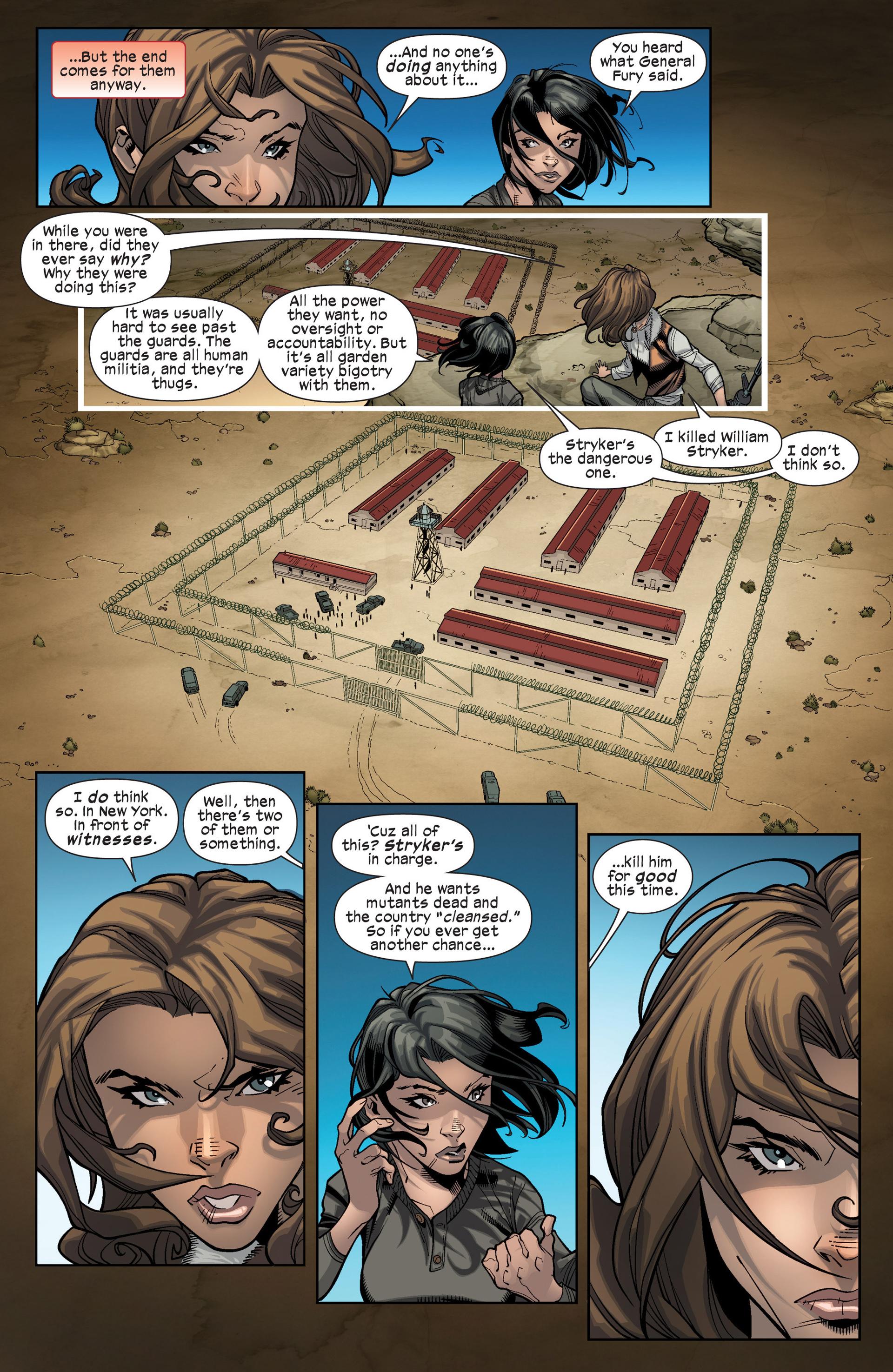 Read online Ultimate Comics X-Men comic -  Issue #16 - 12