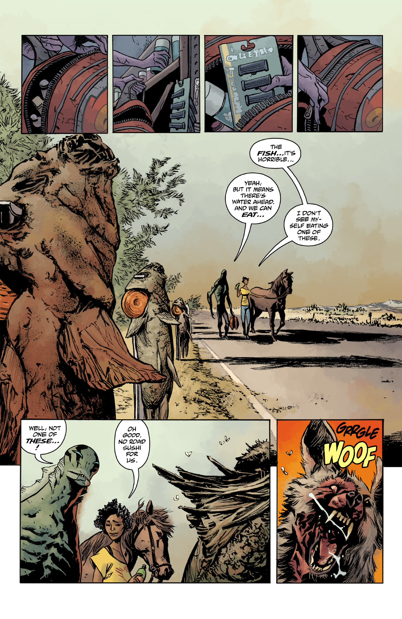 Read online Abe Sapien comic -  Issue #14 - 5