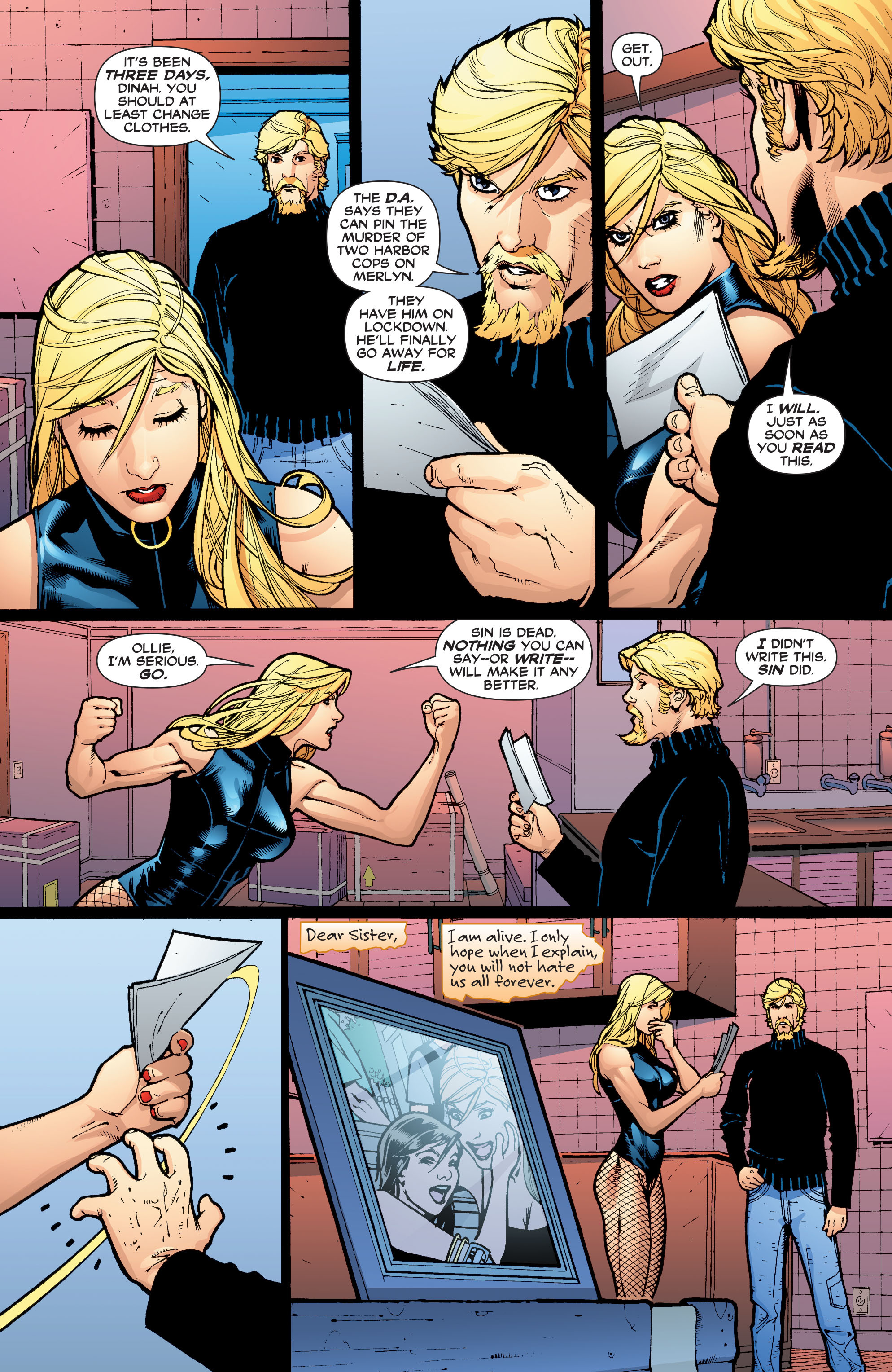 Read online Black Canary (2007) comic -  Issue #4 - 15