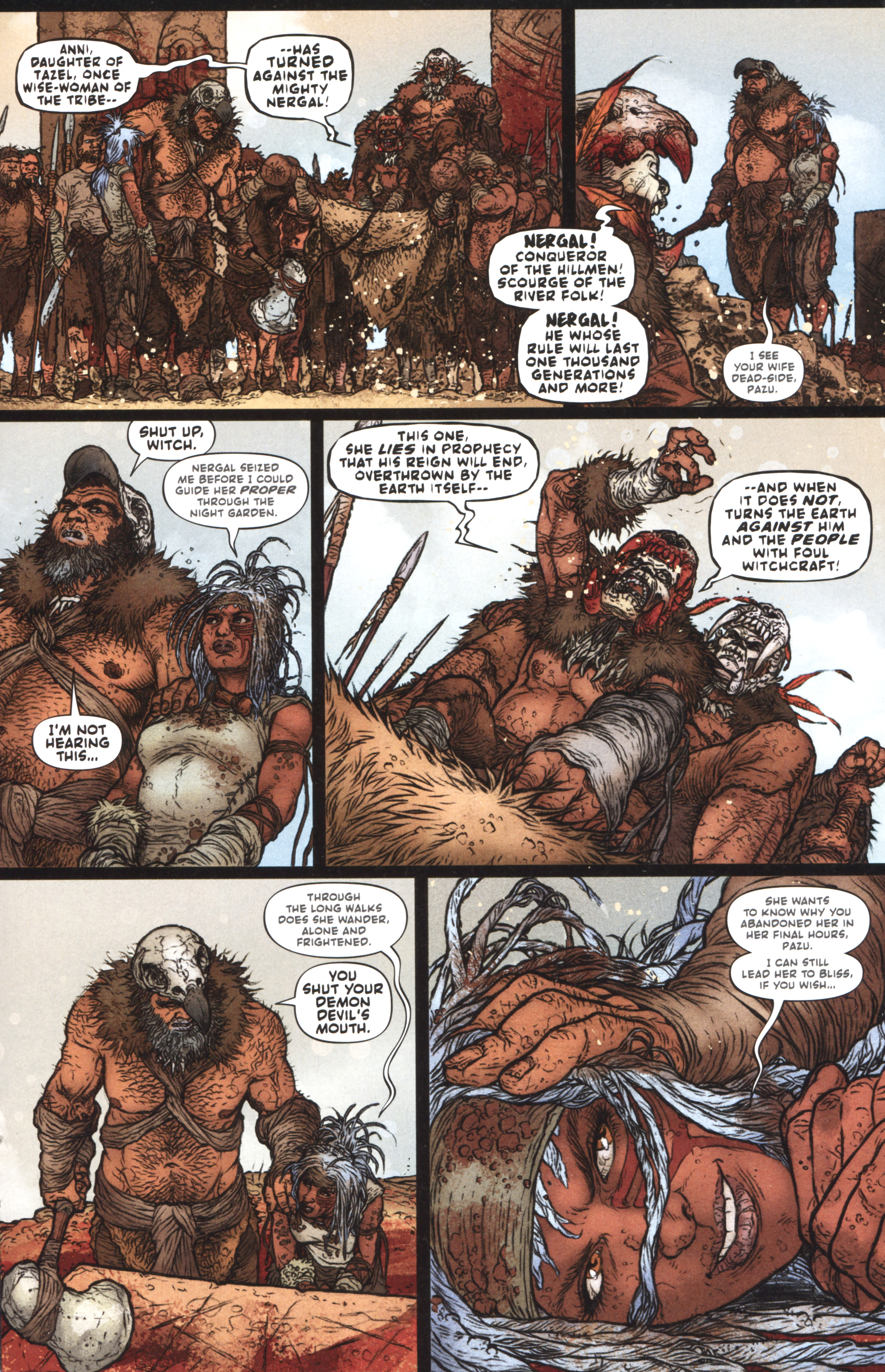 Read online Book of Death: Legends of the Geomancer comic -  Issue #1 - 17