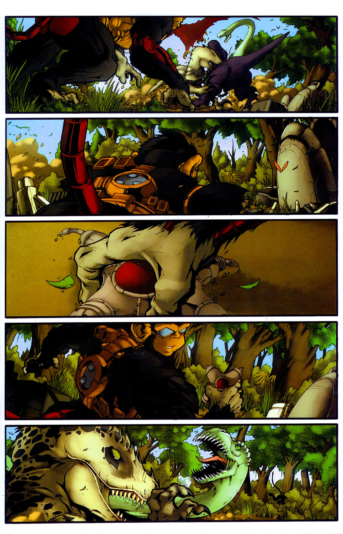 Read online Transformers, Beast Wars: The Gathering comic -  Issue #4 - 10